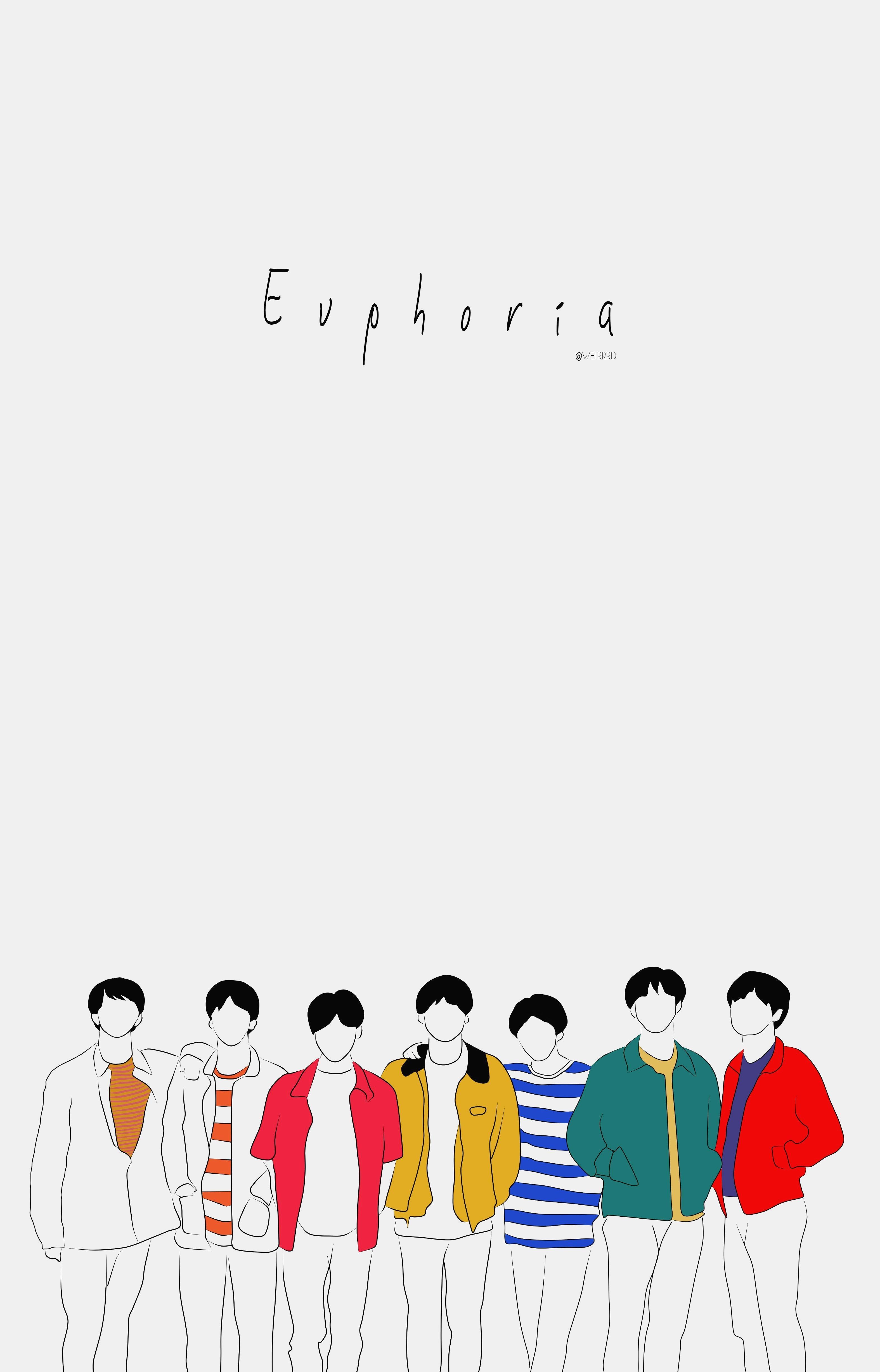 BTS Euphoria Wallpapers - Wallpaper Cave