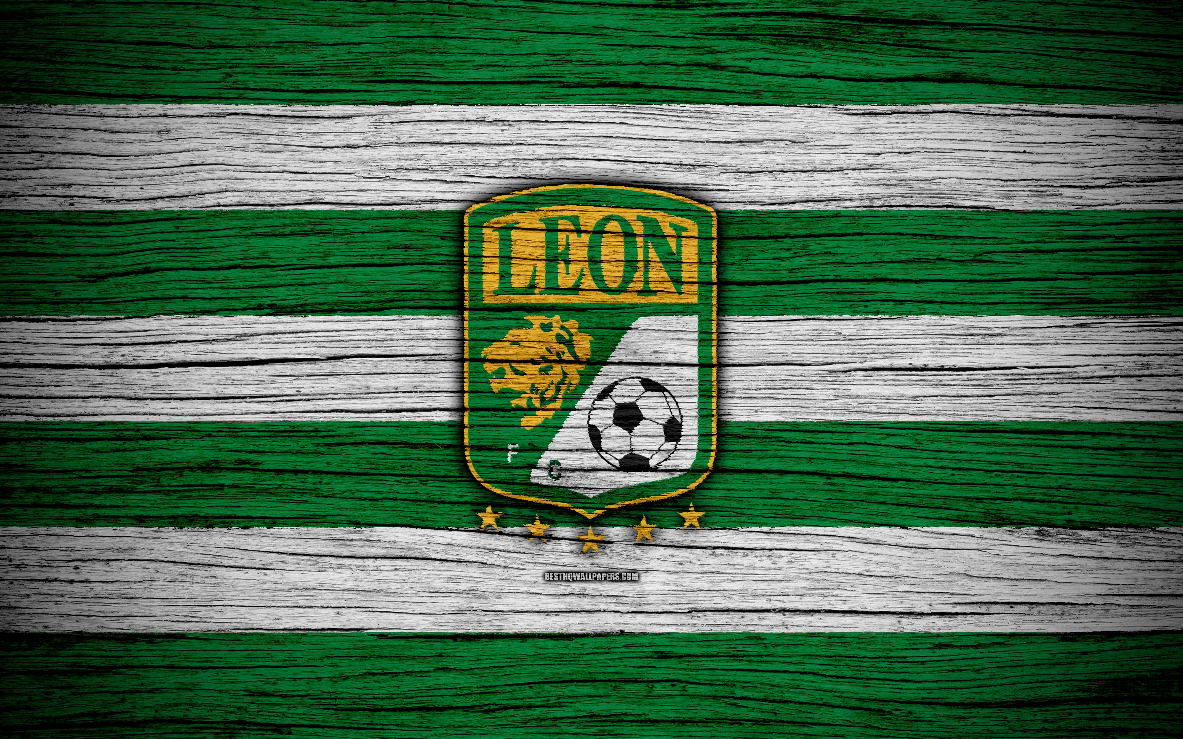 Download wallpapers Club Leon FC, 4k, Liga MX, football, Primera ...