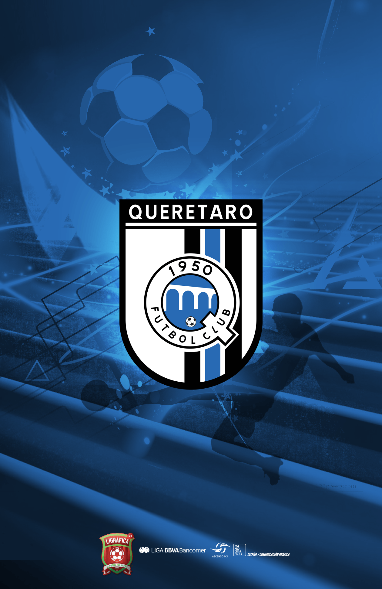 Queretaro F.C. Ronaldinho's current team. The team has never won a