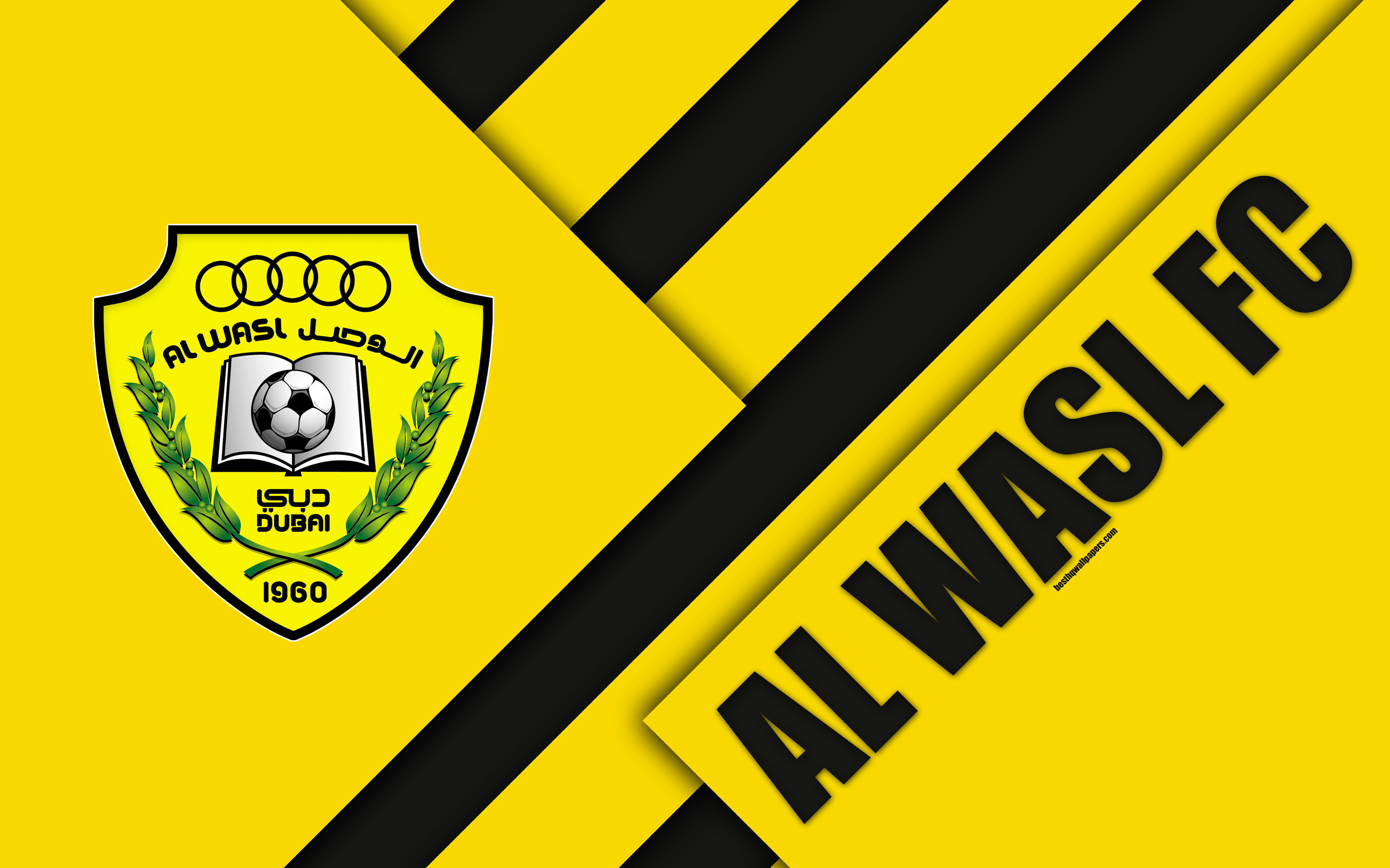 Download wallpapers Al-Wasl FC, emirate football club, 4k, material ...
