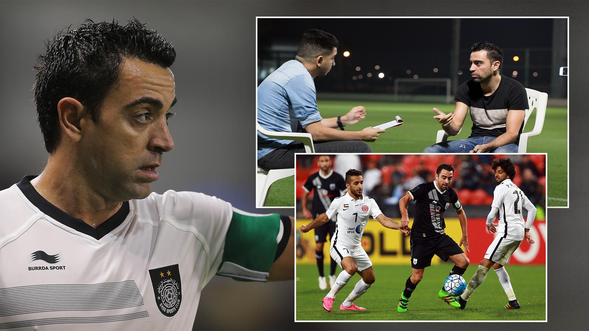 Footballing legend Xavi: Arab footballers are great and promising