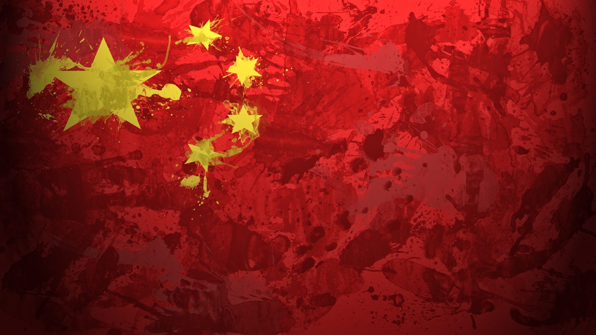 flags, China :: Wallpapers