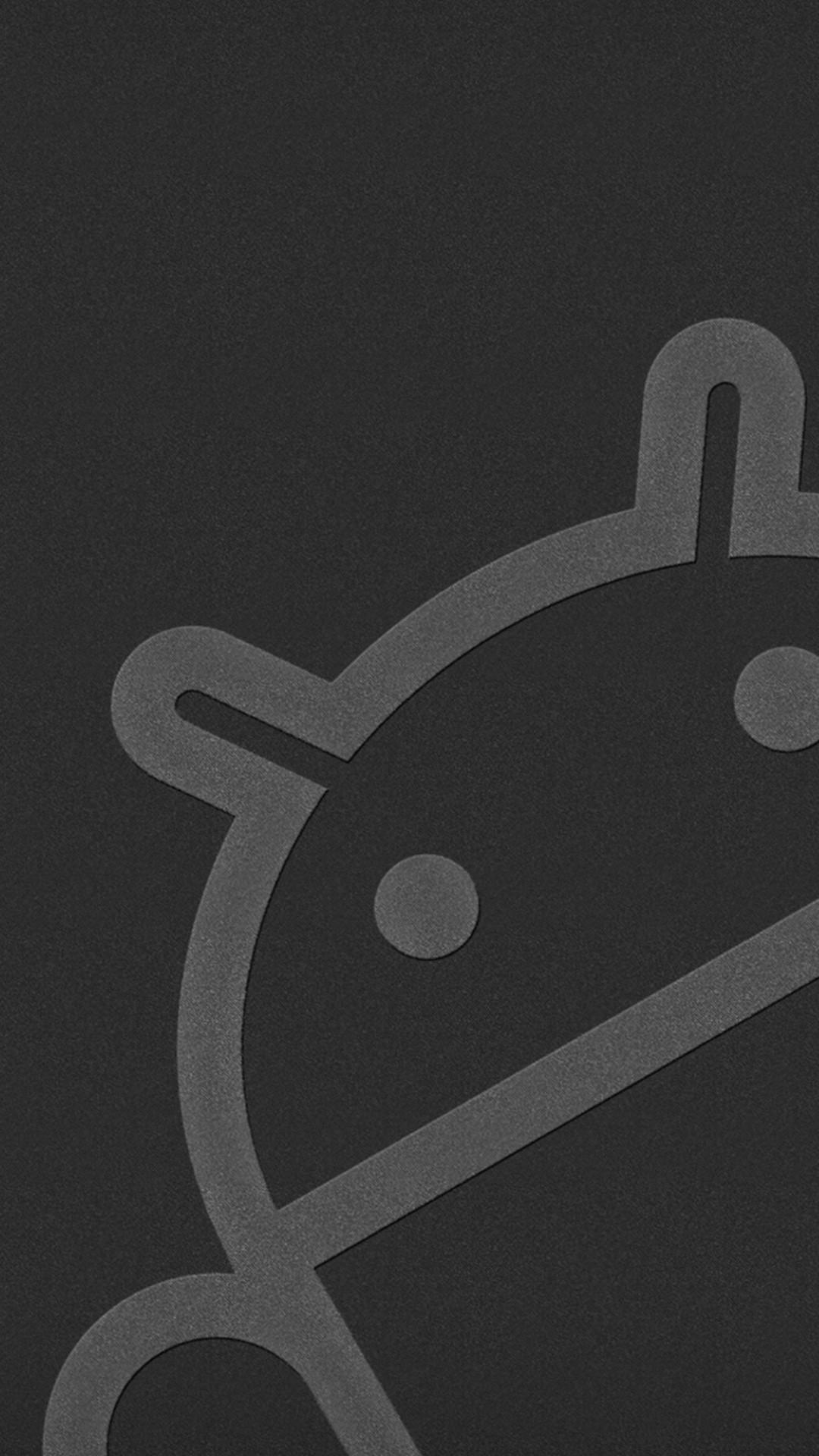 Black Logo Android Wallpapers - Wallpaper Cave