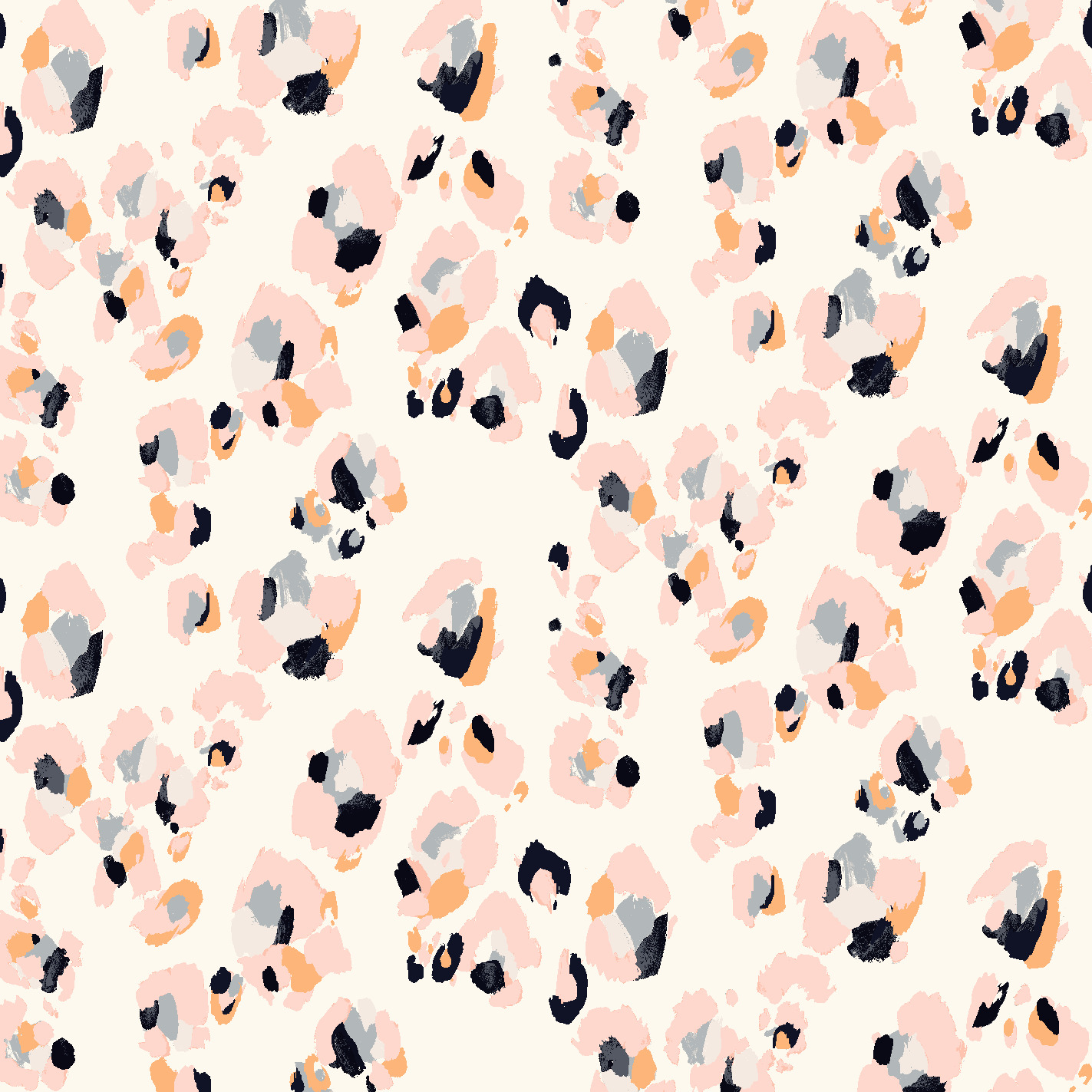 Baby pink cheetah print background - photo#30