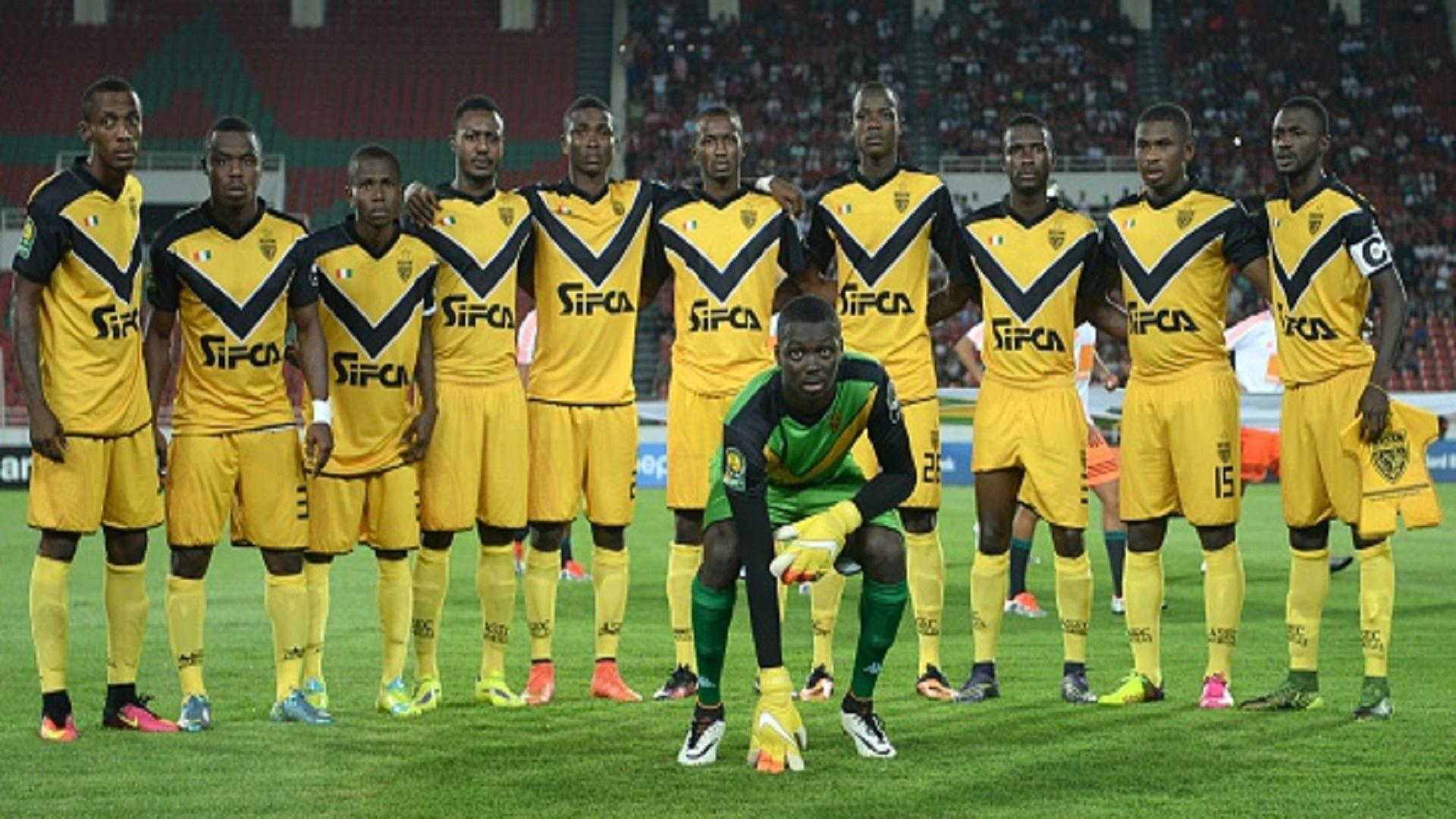 When is the Caf Champions League clash between Asec Mimosas and Lobi ...