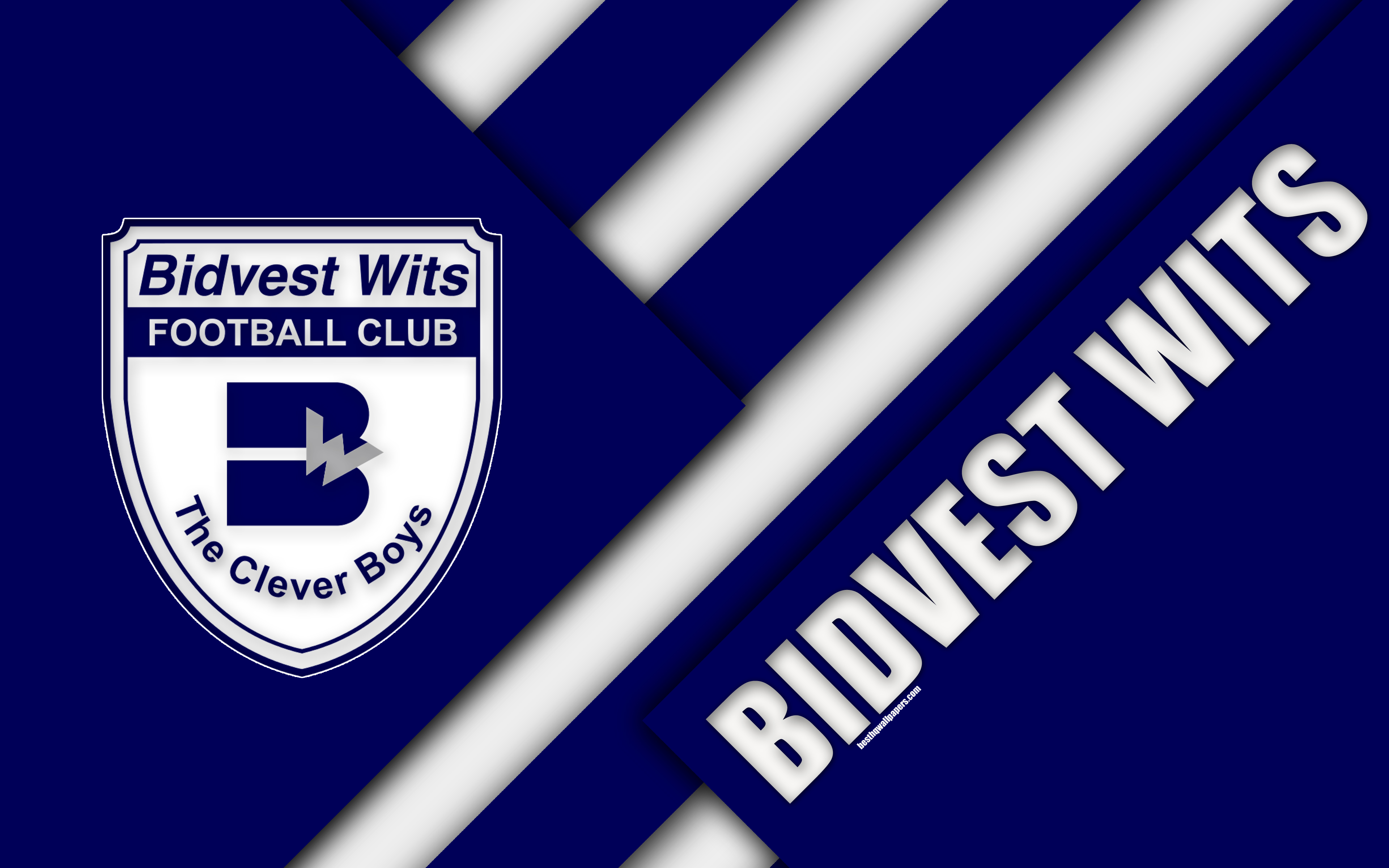 Download wallpapers Bidvest Wits FC, 4k, South African Football Club ...