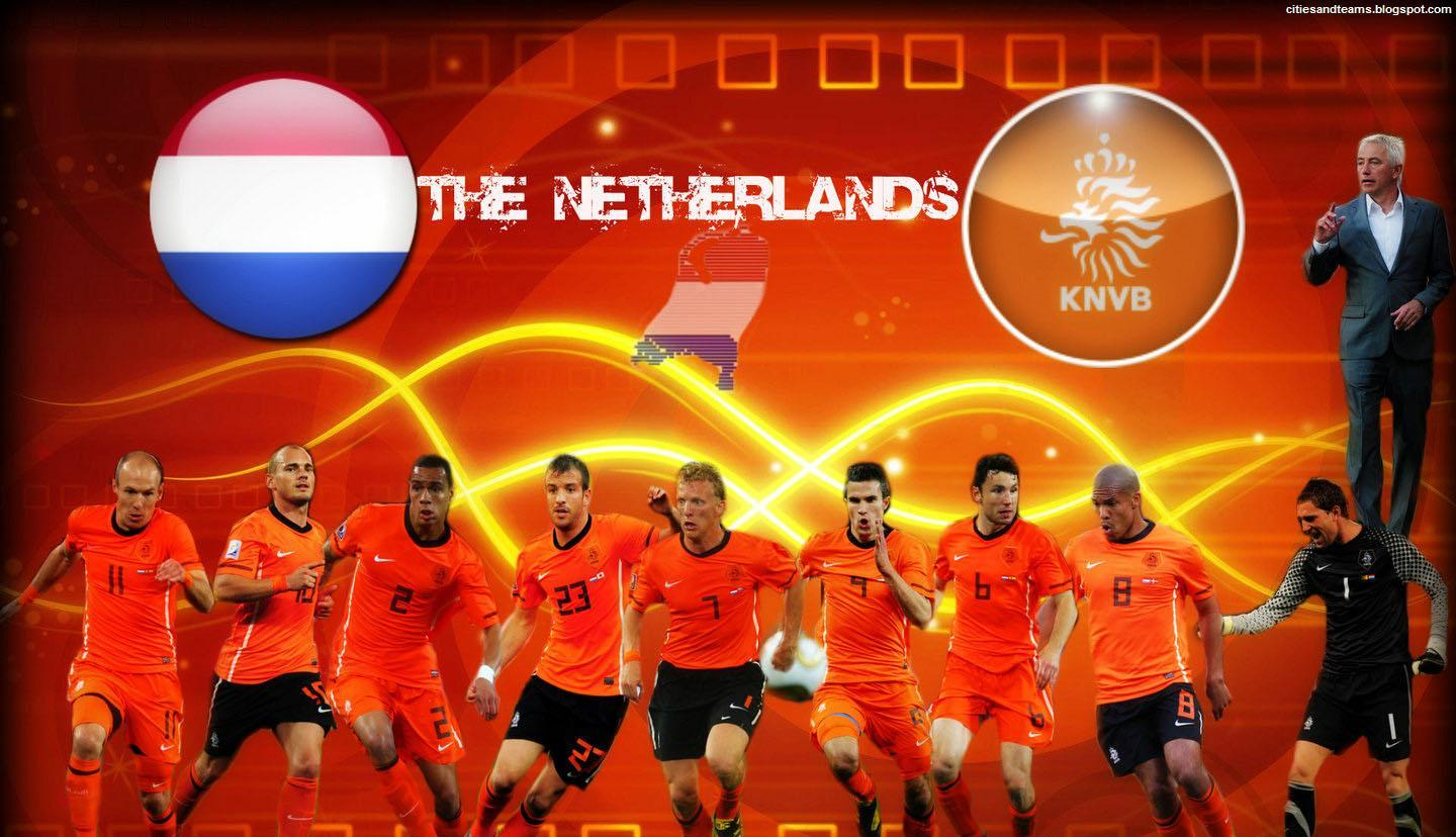 Netherlands National Football Team Zoom Background
