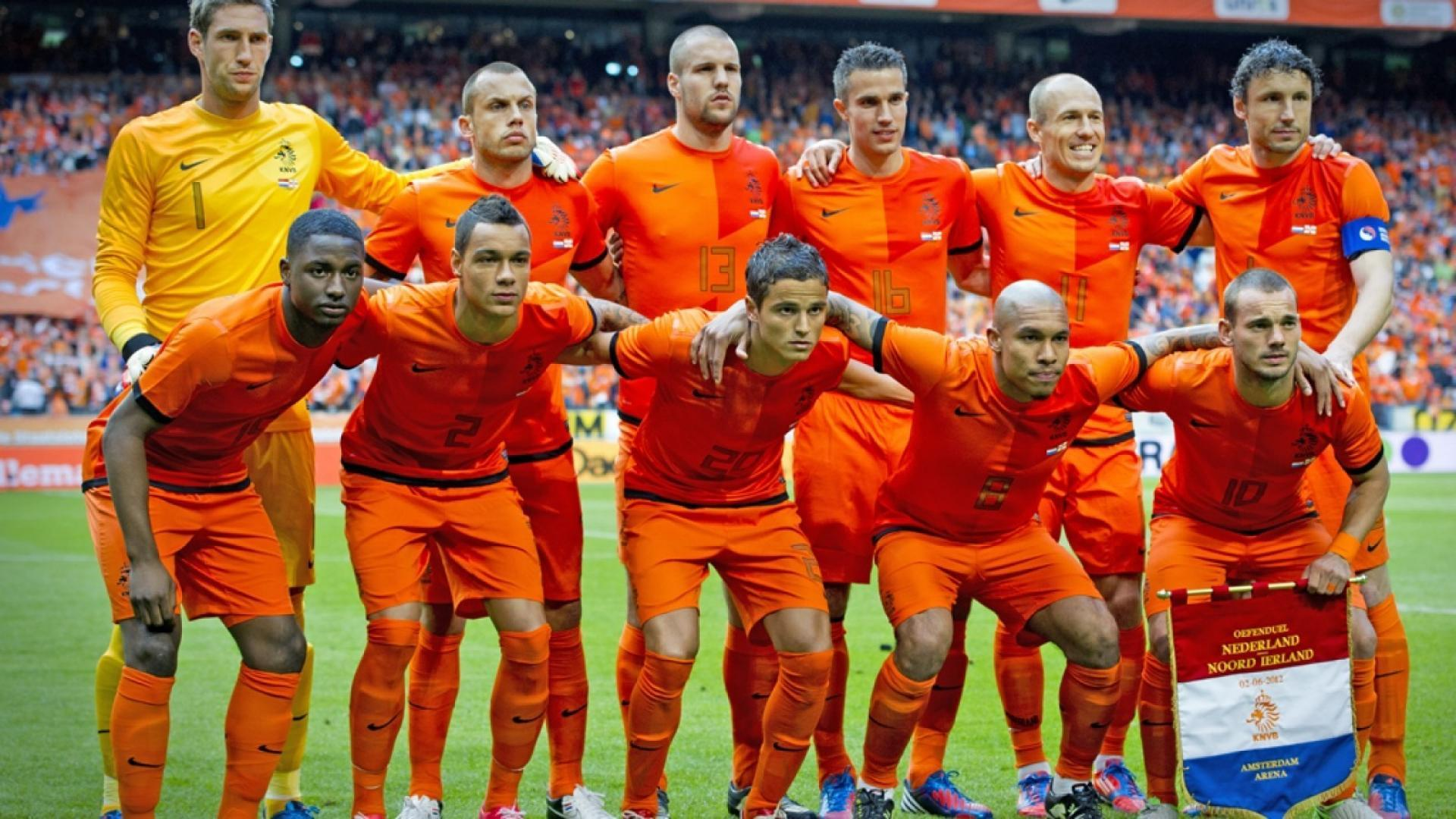 Netherlands National Football Team Zoom Background 6