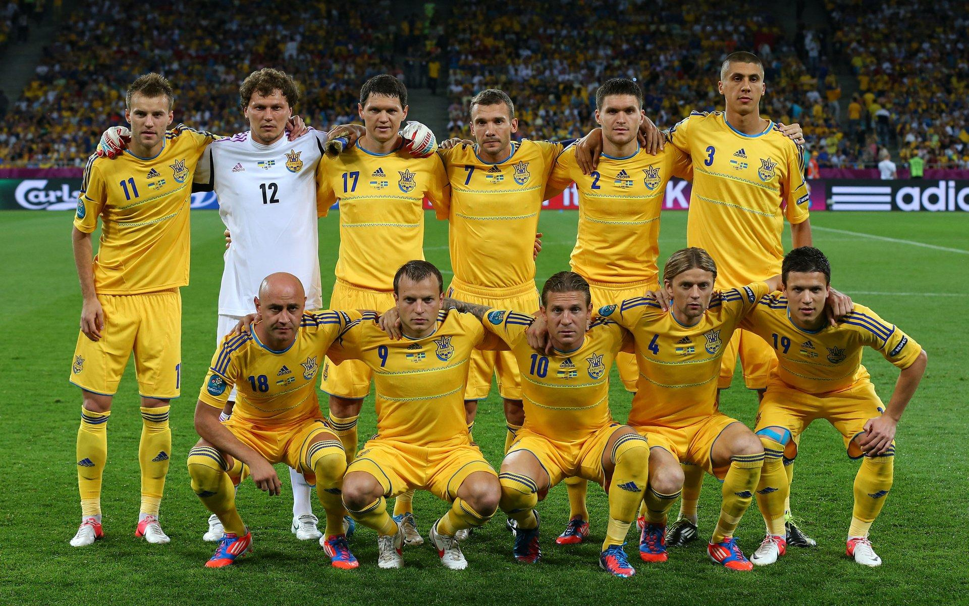 Ukraine National Football Team Zoom Background