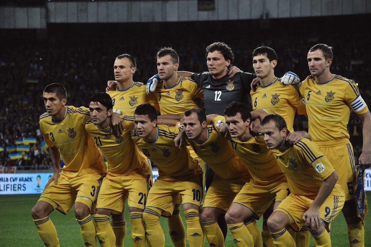 Ukraine National Football Team Zoom Background 2