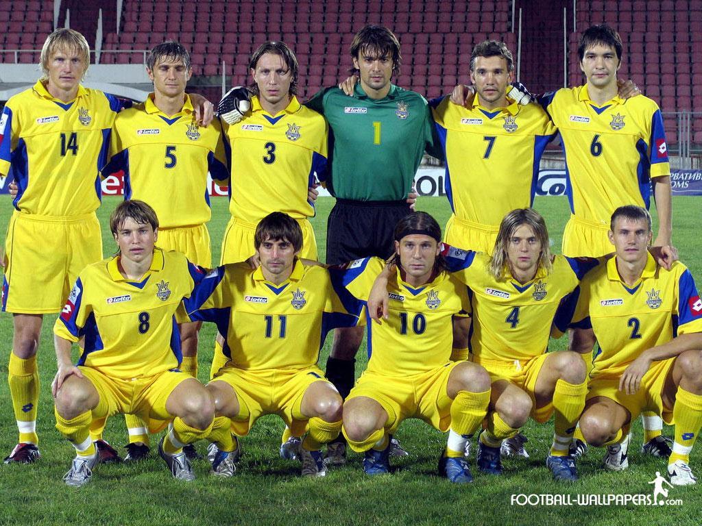 Ukraine National Football Team Zoom Background 4