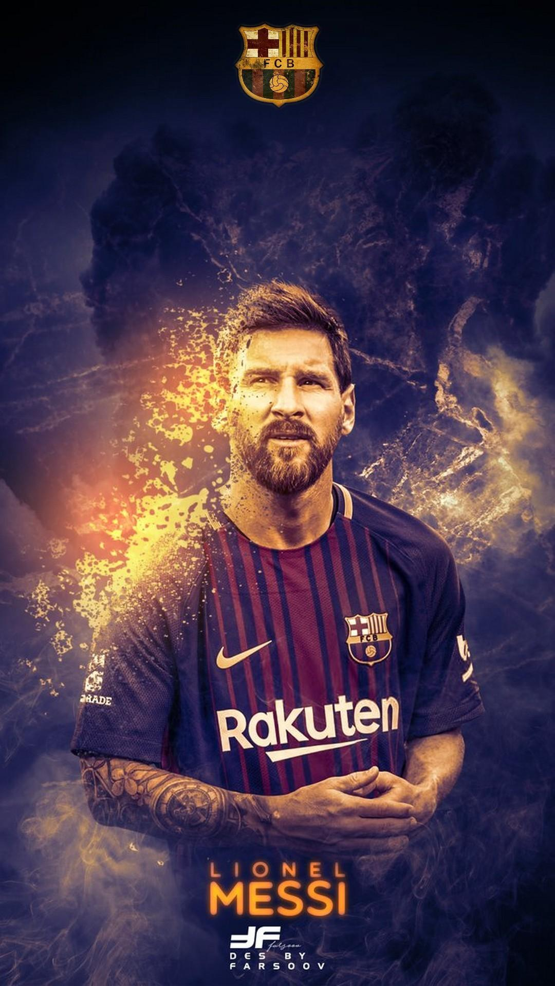 Leo Messi HD Wallpaper For iPhone | 2019 Football Wallpaper