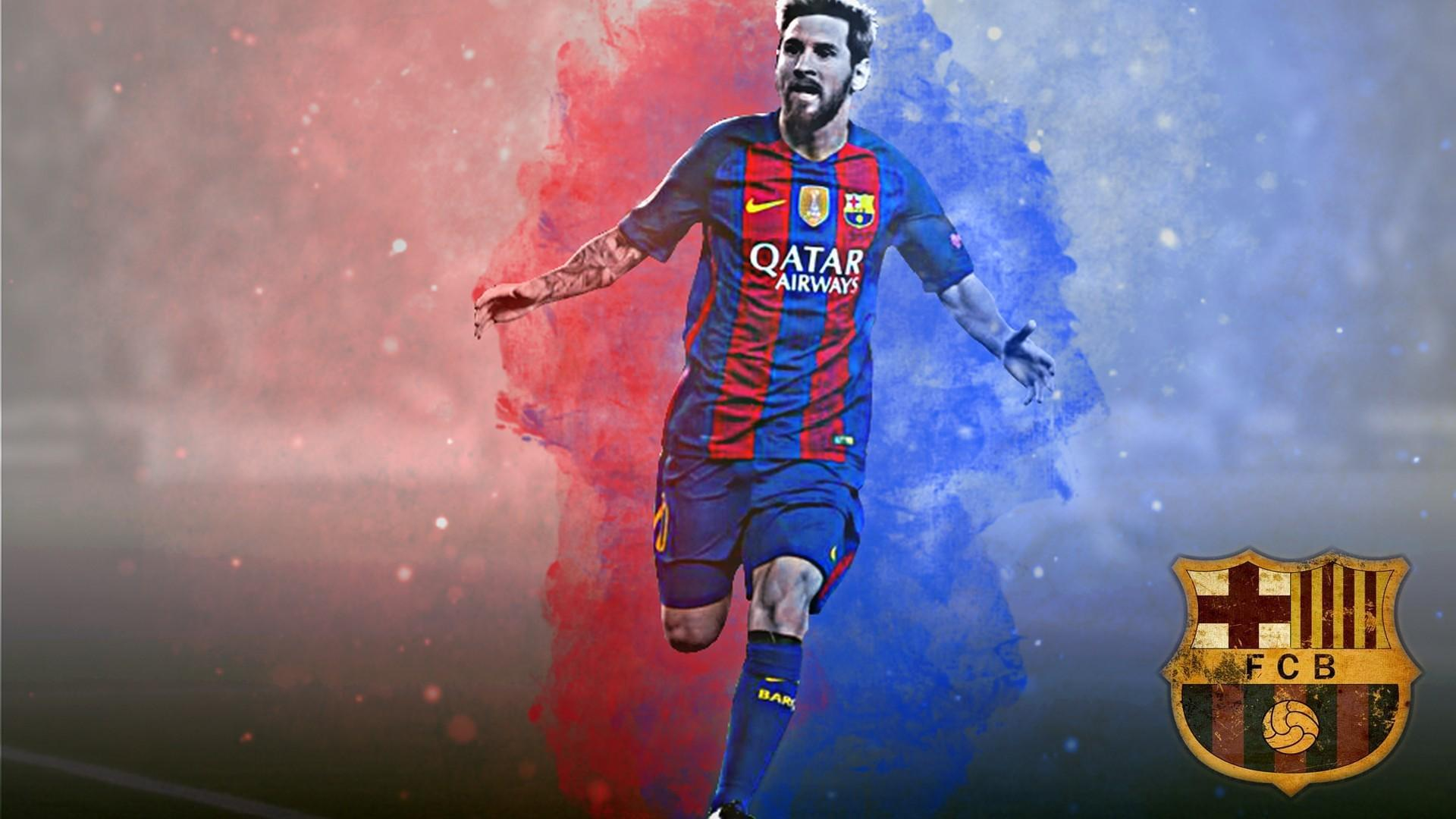 Wallpaper Desktop Lionel Messi HD | 2019 Football Wallpaper