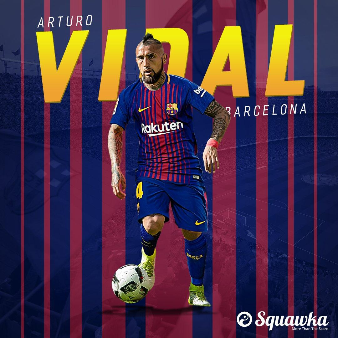 Squawka News on Twitter: DONE DEAL: Arturo Vidal has joined