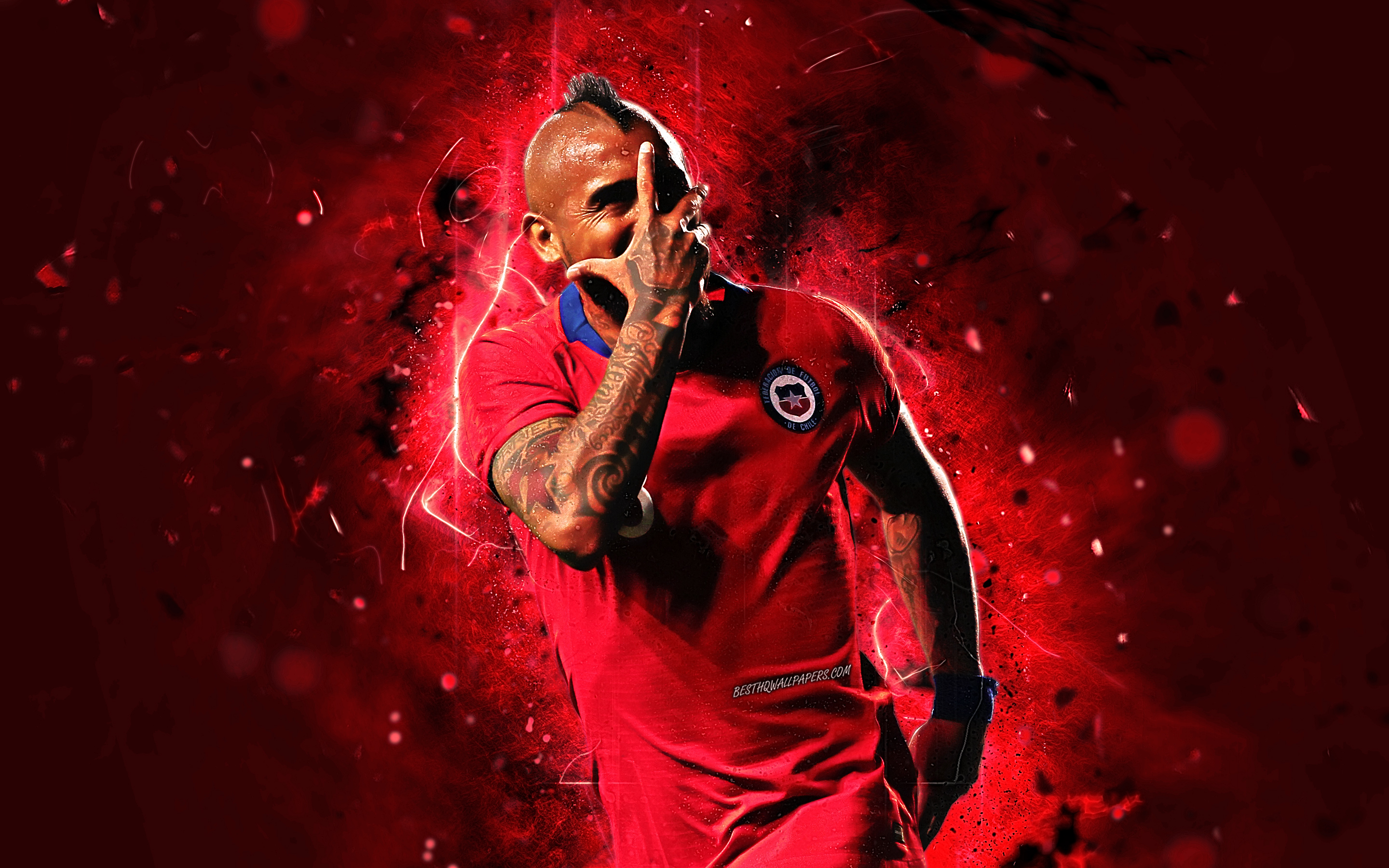 Arturo Vidal, Chilean, Footballer, Soccer wallpapers and backgrounds