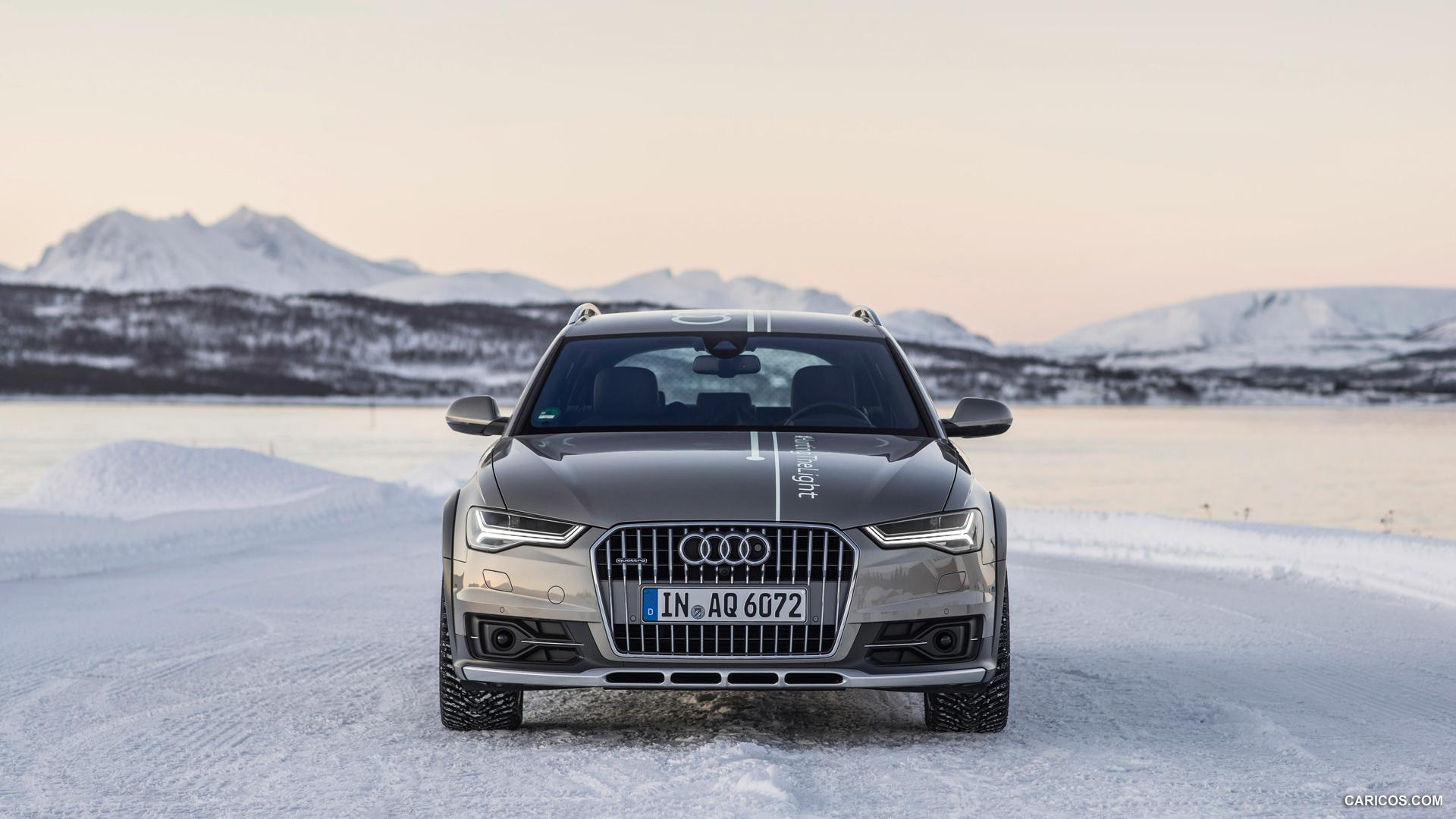 2015 Audi A6 allroad #HuntingTheLight - Front | HD Wallpaper #25