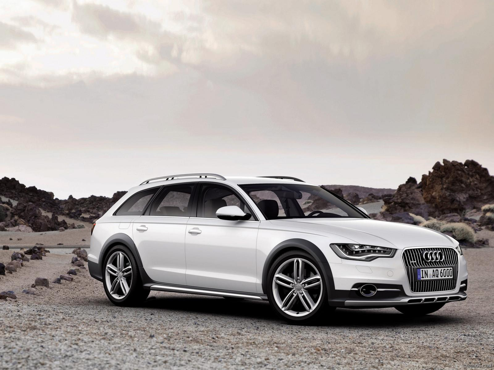2013 Audi A6 AllRoad - Front | Wallpaper #2