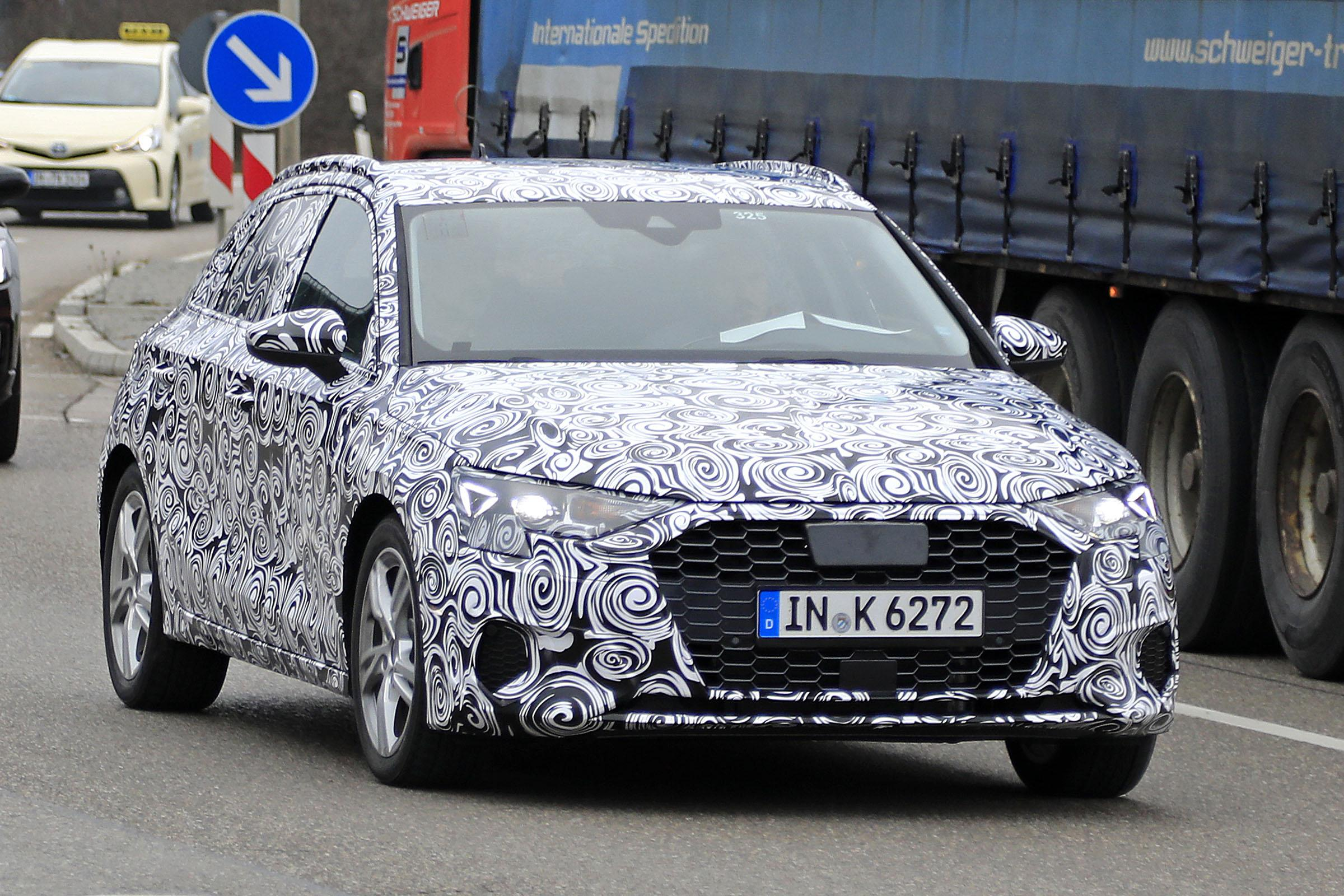 "New 2019 Audi A3 spied again in sporty ""S"" guise"