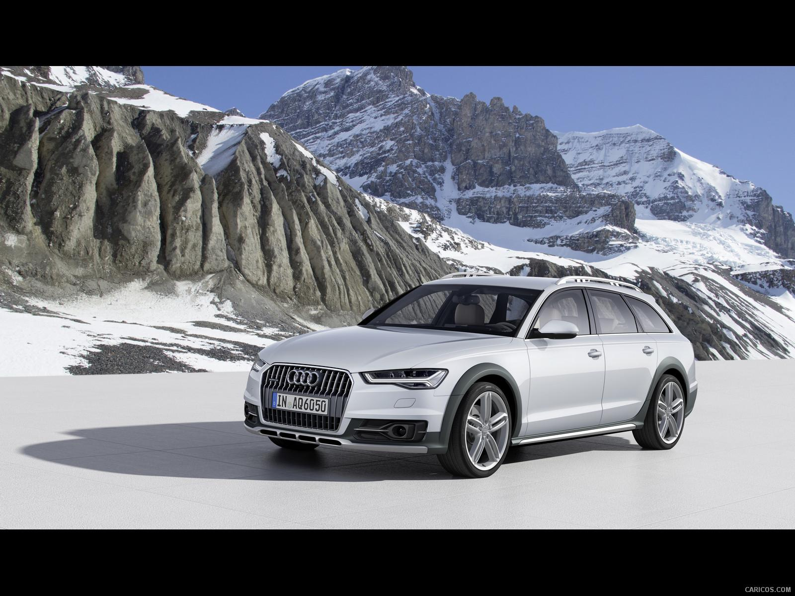 2015 Audi A6 allroad (Cortina White) - Front | Wallpaper #1 | 1600x1200