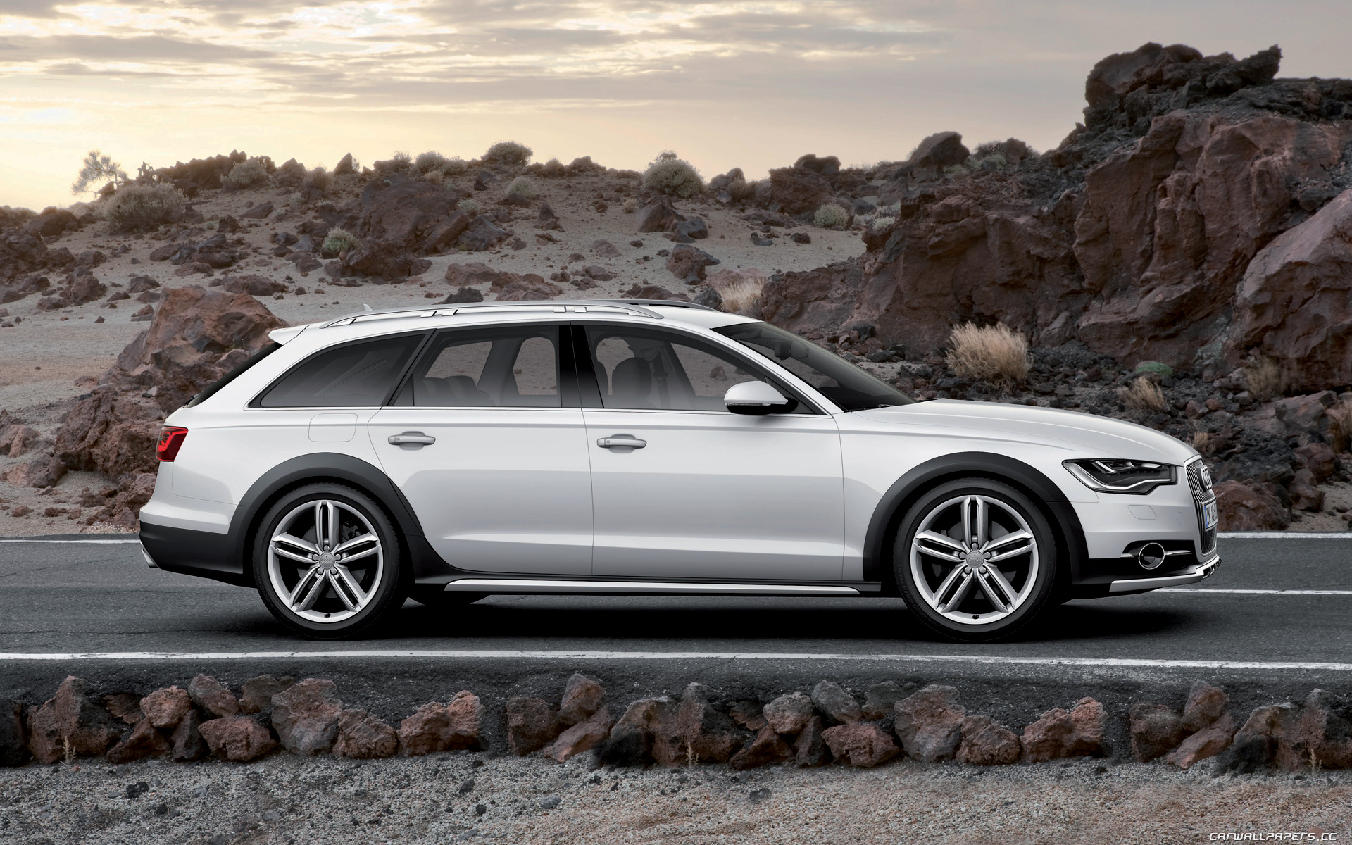 Audi A6 Allroad Quattro - Free Car Wallpapers HD