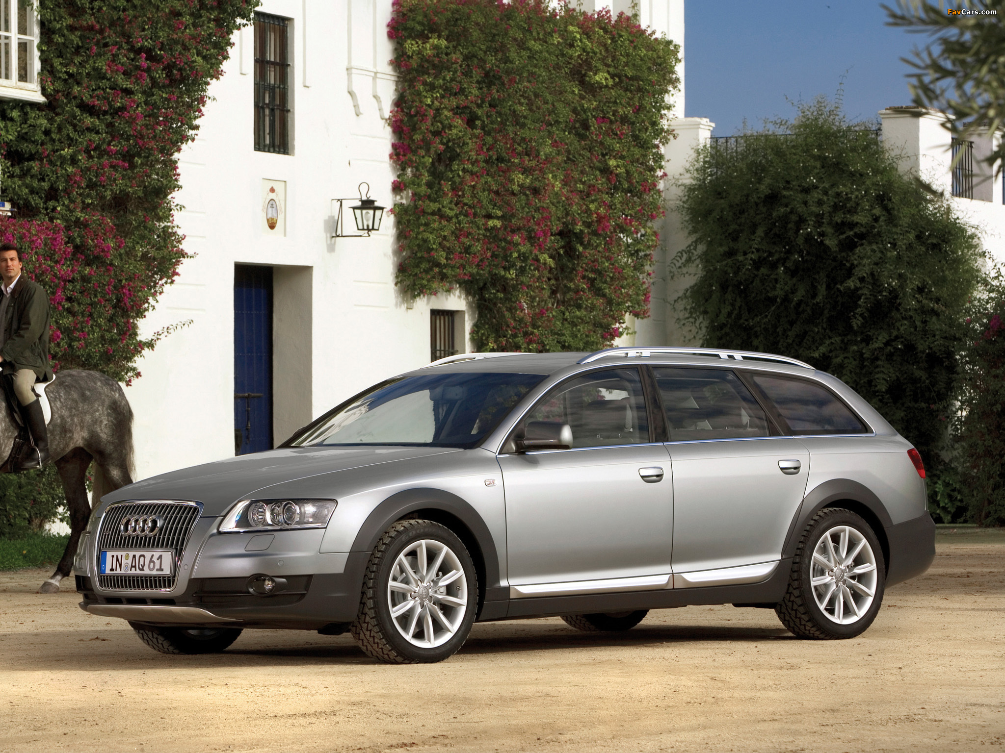 Audi A6 Allroad 4.2 quattro (4F,C6) 2006–08 wallpapers (2048x1536)