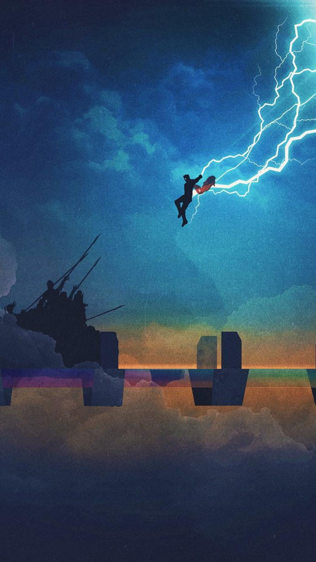 Thor With Stormbreaker Wallpapers Wallpaper Cave