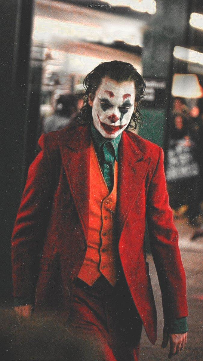 K a l e e m z on Twitter: Joaquin Phoenix as JOKER ❤