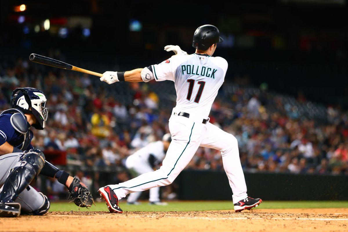 A.J. Pollock Is Still on the Mend - One Foot Down