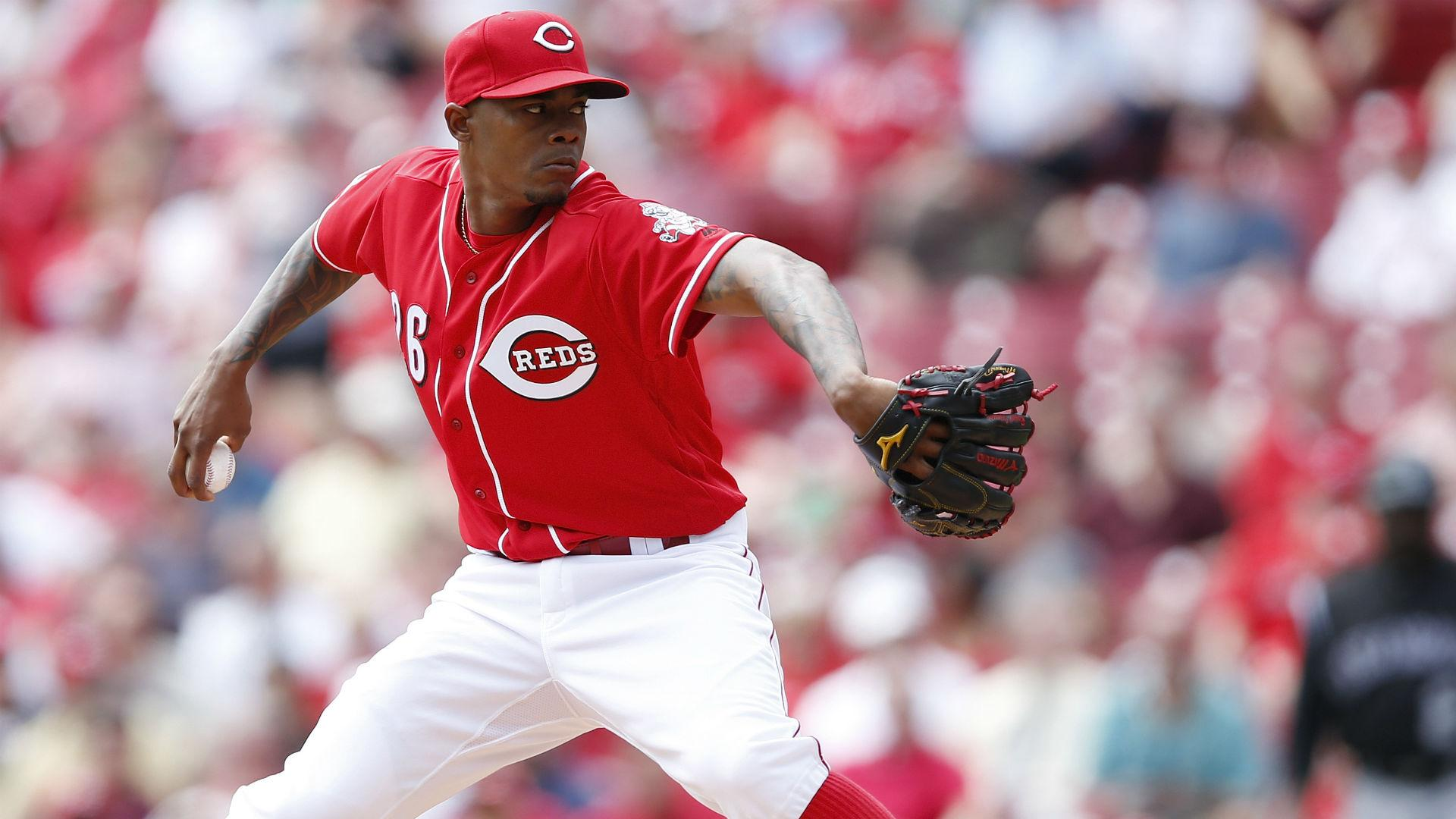 Reds place closer Raisel Iglesias on 10