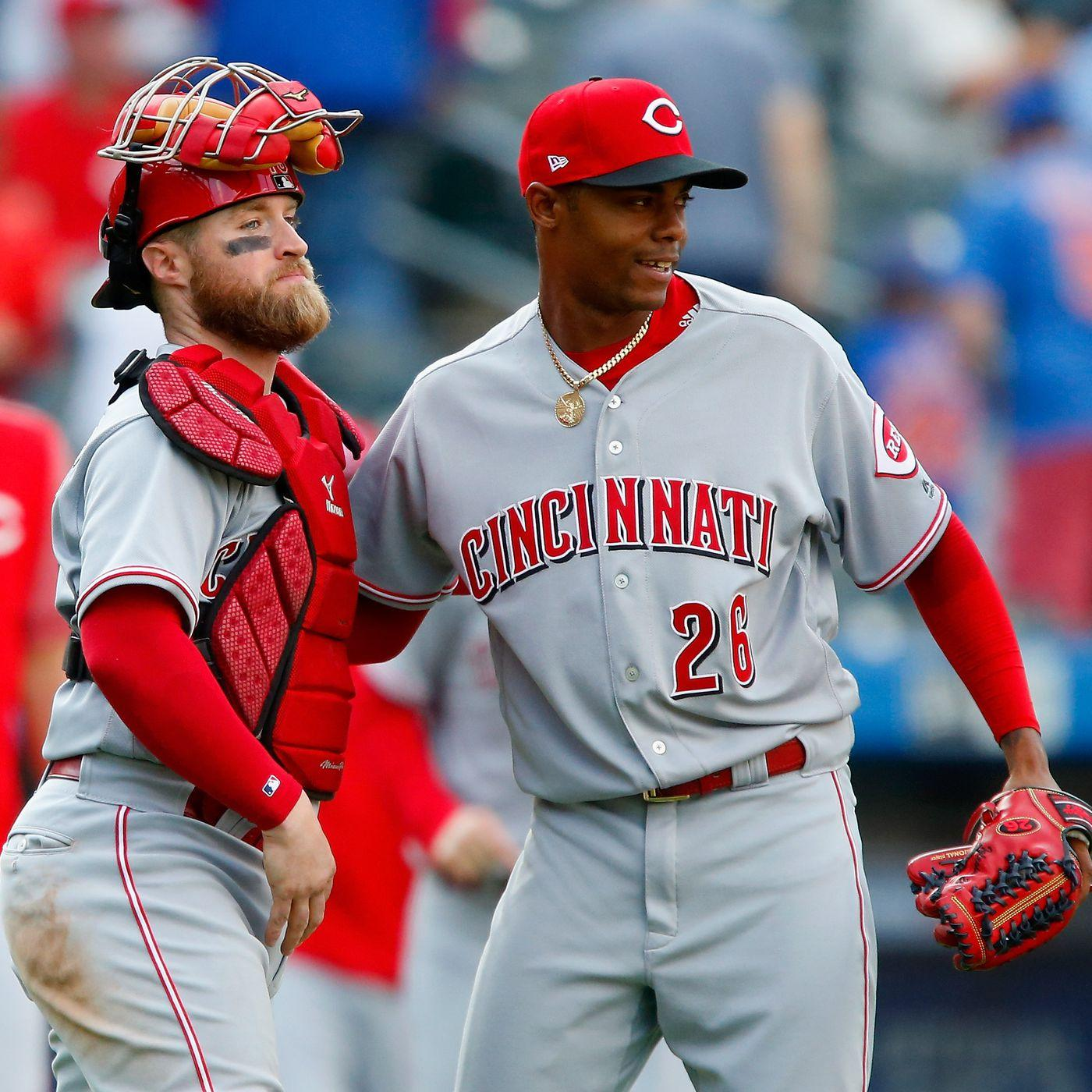 The Minnesota Twins are interested in Raisel Iglesias