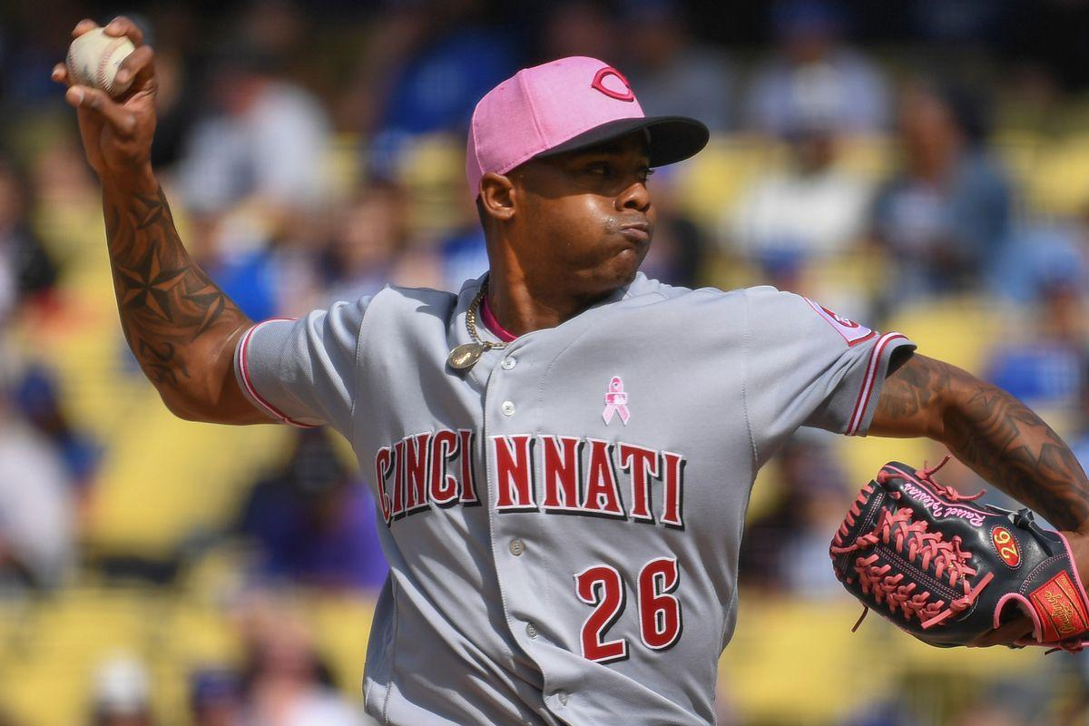 Reds place closer Raisel Iglesias on the disabled list with left