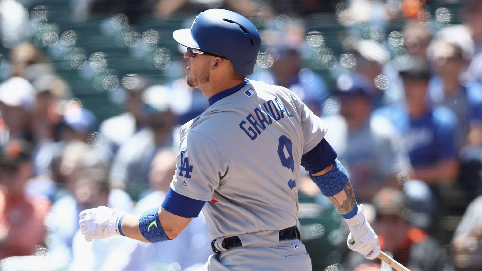 Dodgers' Yasmani Grandal has been on a tear this month, but don't