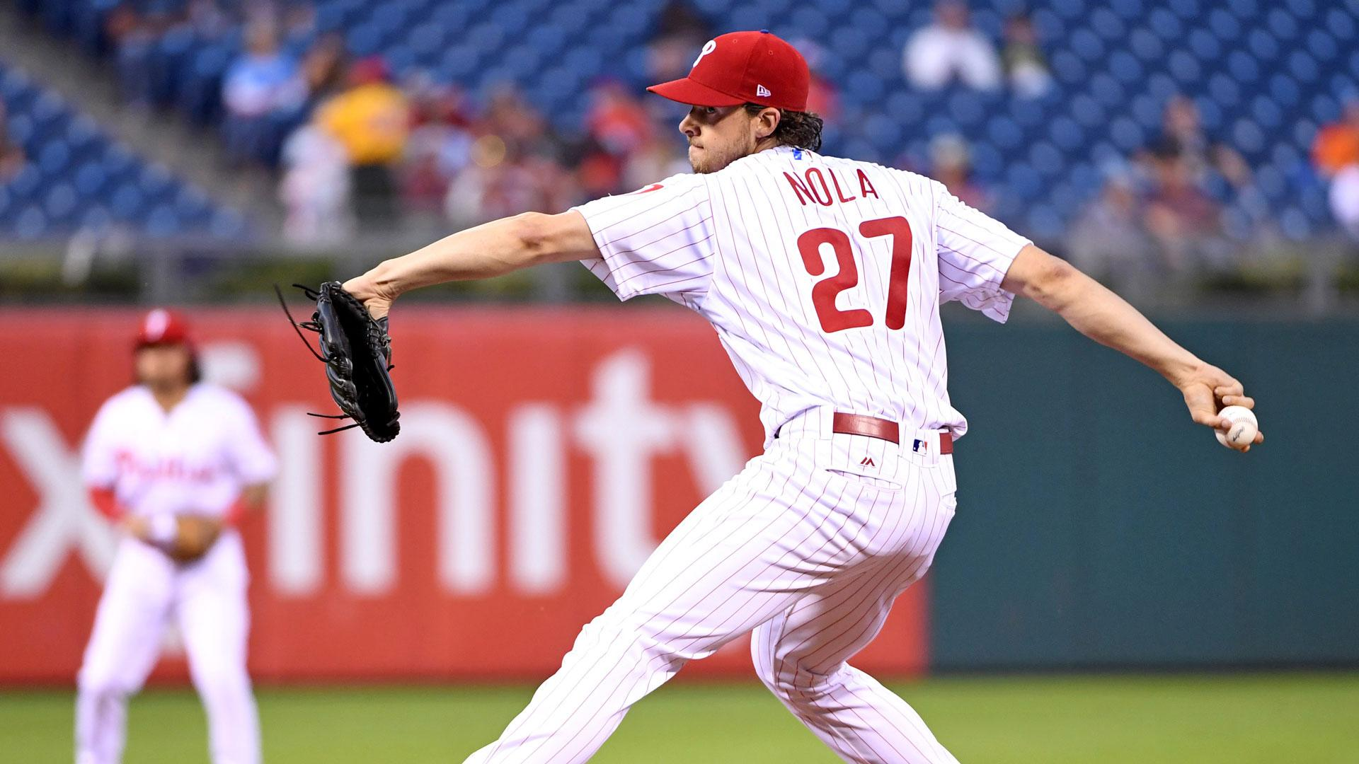Ricky Bottalico: Aaron Nola made 'statement to the Marlins' | NBC ...