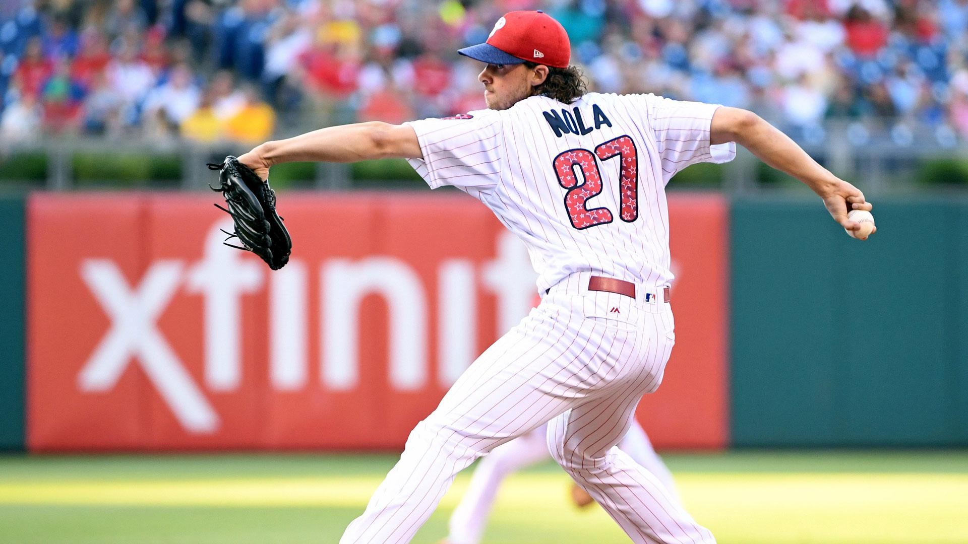 Ben Davis: Aaron Nola 'was able to execute with all 3 pitches' | NBC ...