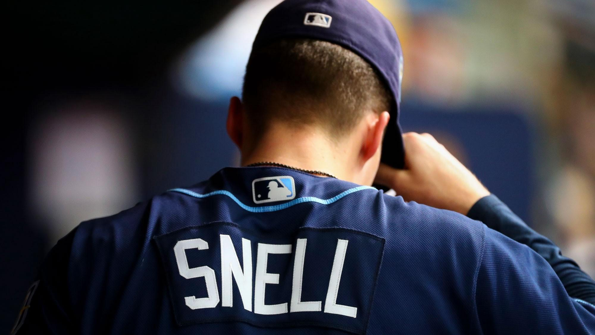 Blake Snell donates jersey from 21st win to the Baseball Hall of Fame