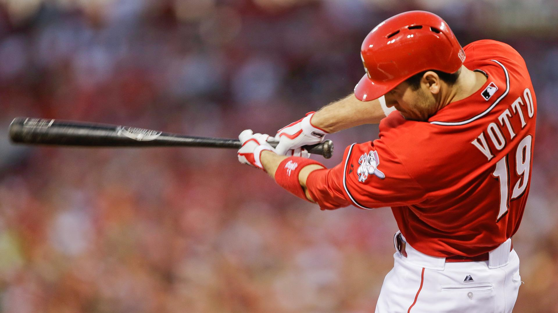 Joey Votto, modern thinker: Can't be 'stuck in the past' with stats