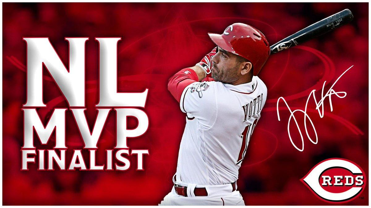 Cincinnati Reds on Twitter: Joey Votto has been selected as one of