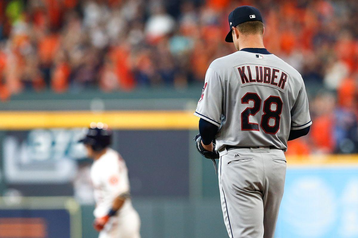 MLB playoffs 2018: Corey Kluber struggles against Astros, but ...