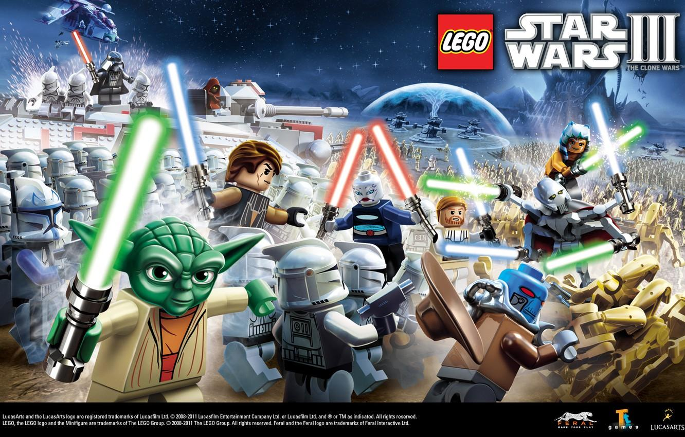 Lego Star Wars Iii The Clone Wars Wallpapers Wallpaper Cave