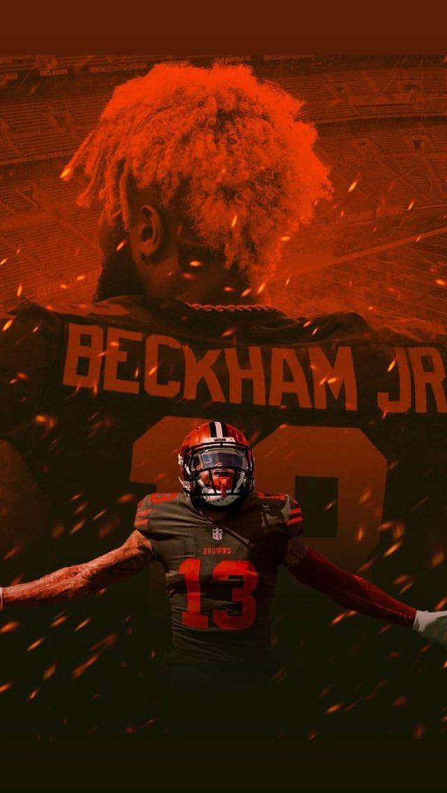 Odell Beckham Jr. Cleveland Browns wallpaper