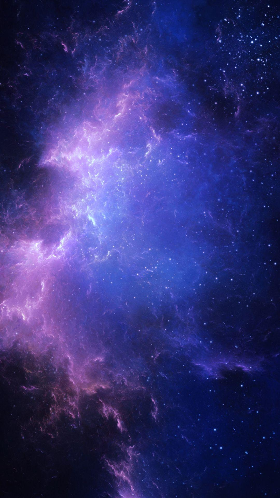 Purple And Blue Galaxy Wallpapers Wallpaper Cave
