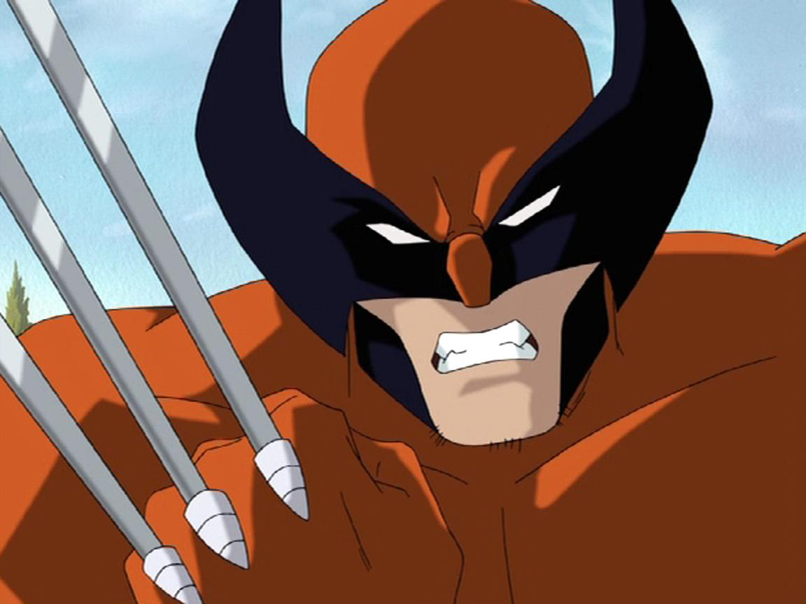 X Men Evolution Wolverine Wallpapers Wallpaper Cave