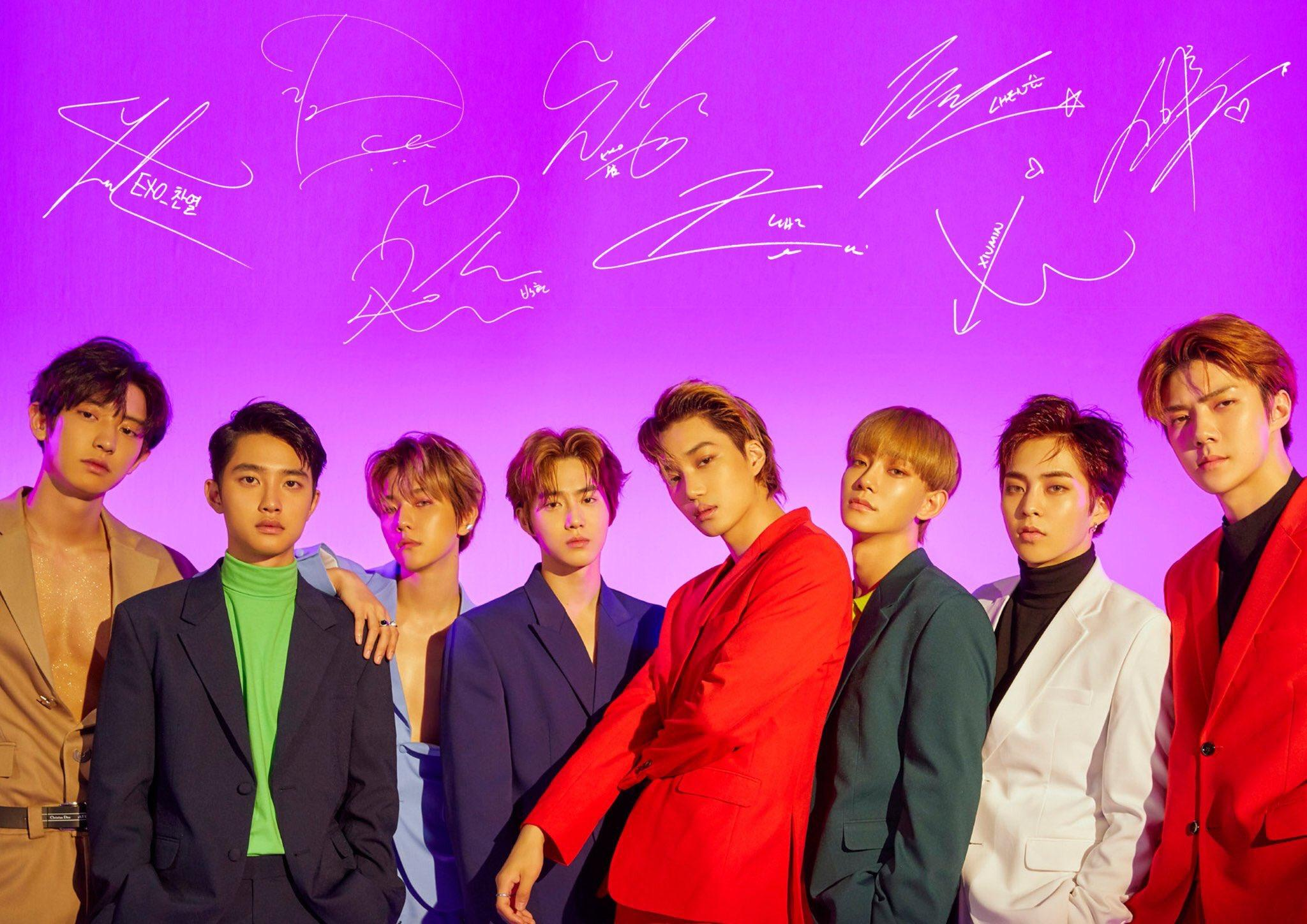 EXO Love Shot Wallpapers - Wallpaper Cave