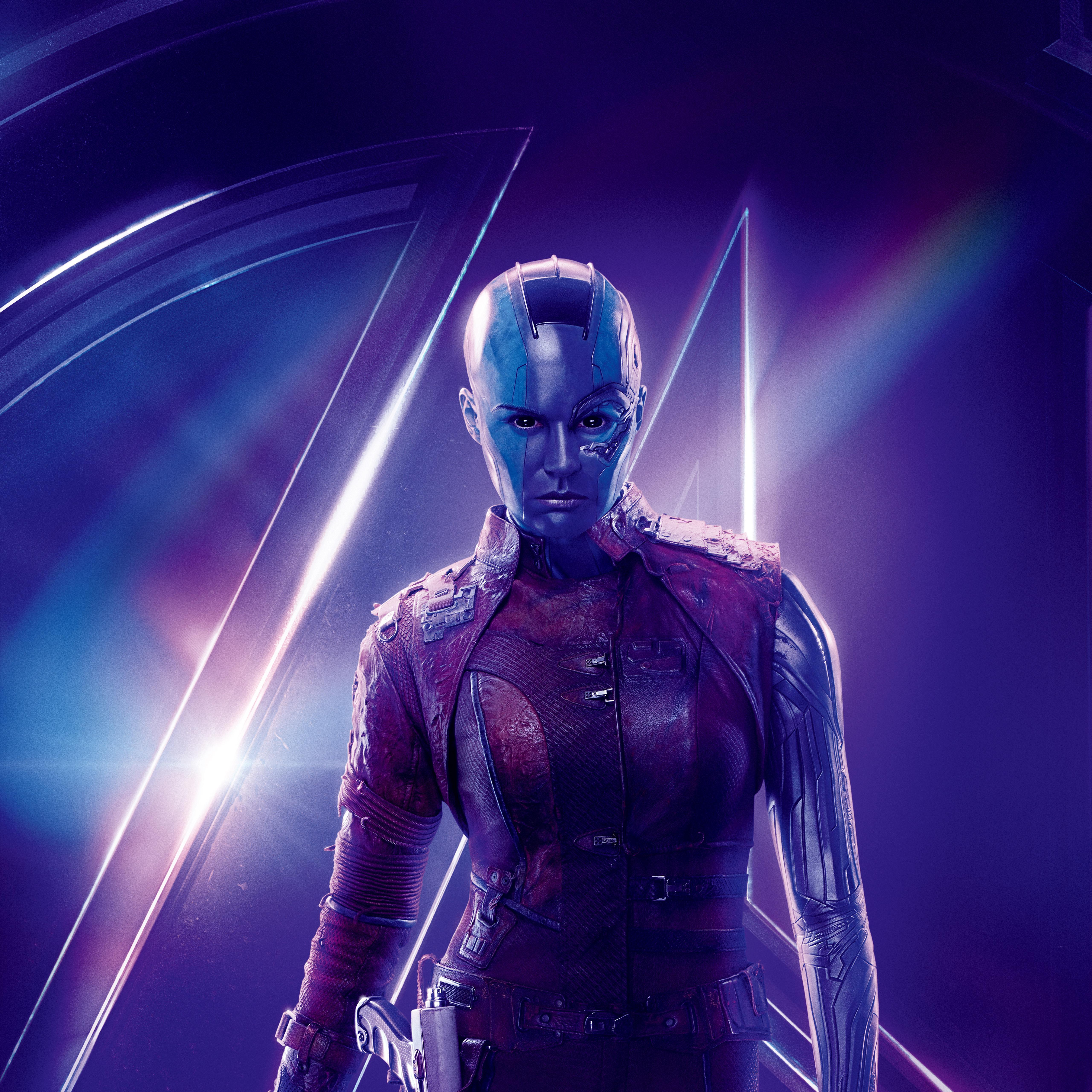 Nebula Marvel Wallpapers Wallpaper Cave