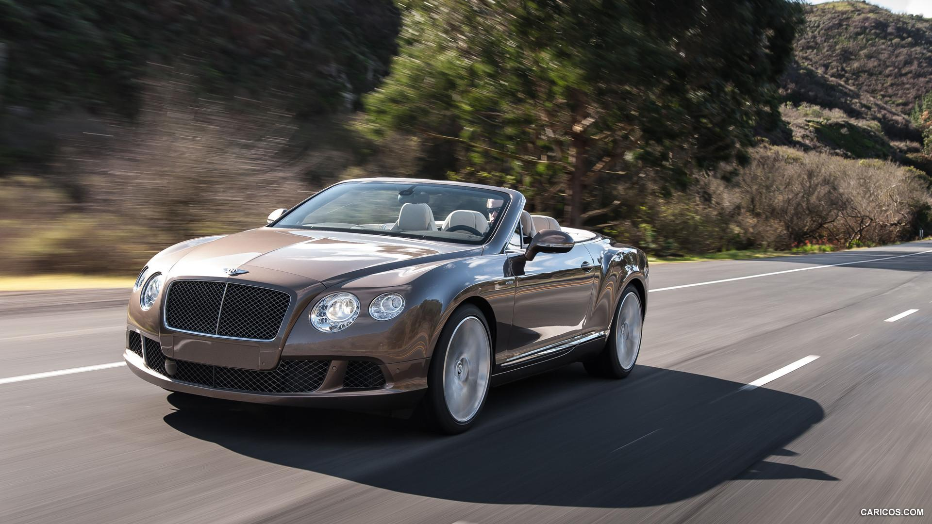 2014 Bentley Continental GT Speed Convertible Thunder