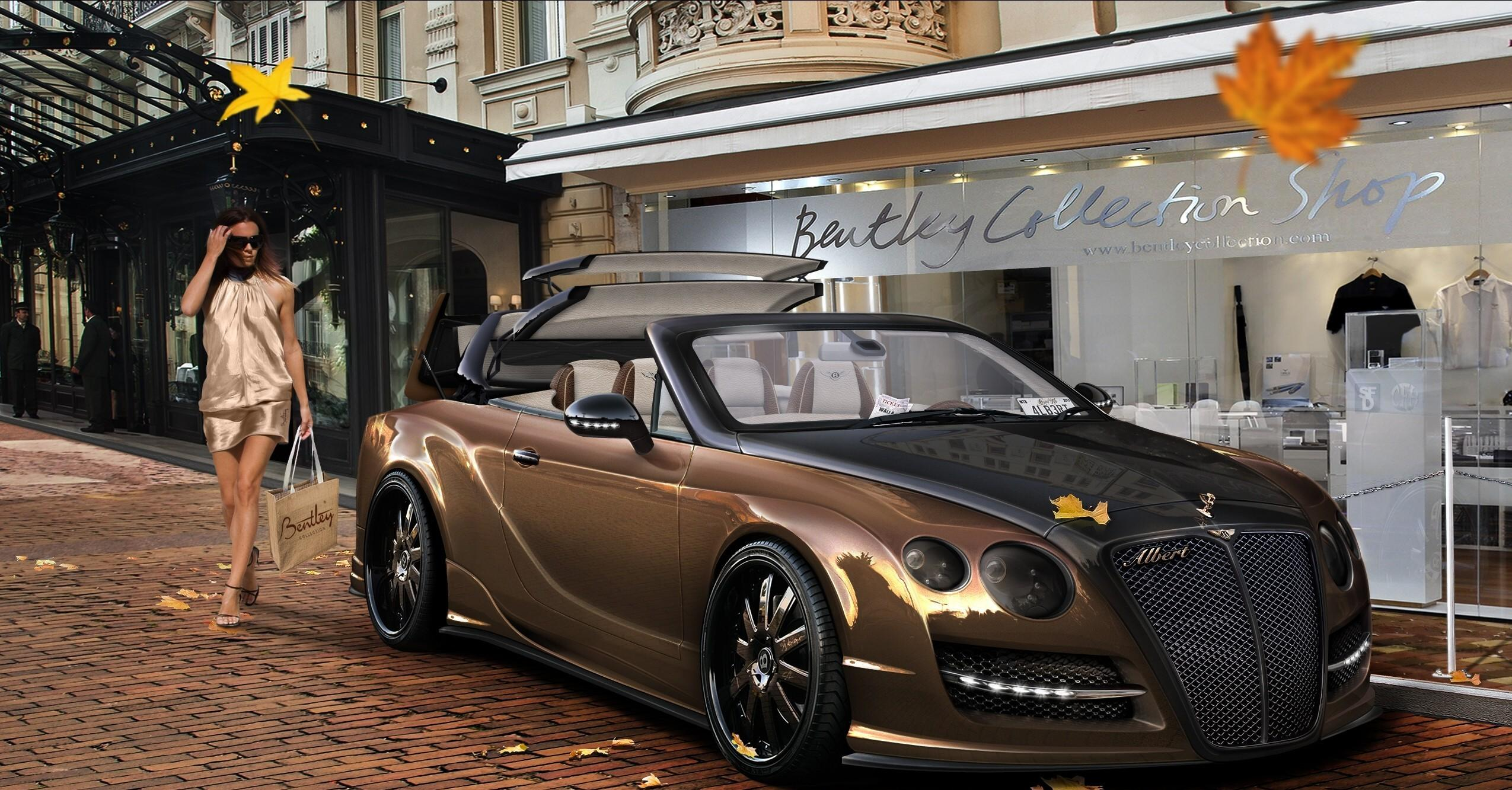 Bentley Continental GT Convertible HD Wallpapers