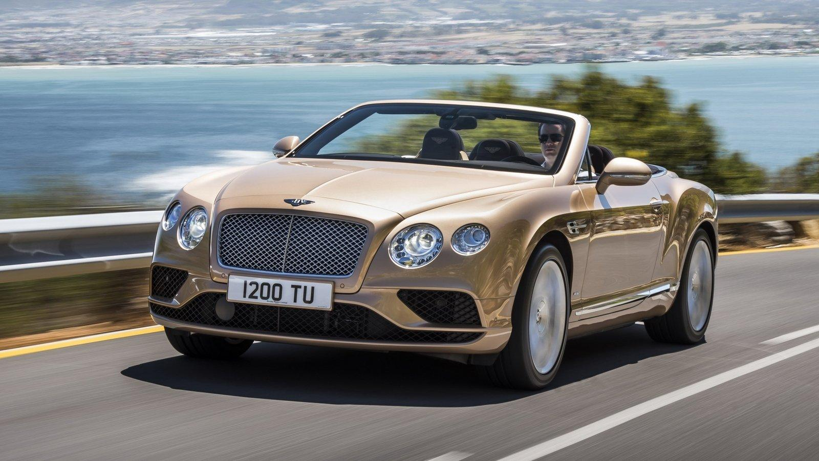 2016 Bentley Continental GT Convertible Pictures, Photos, Wallpapers