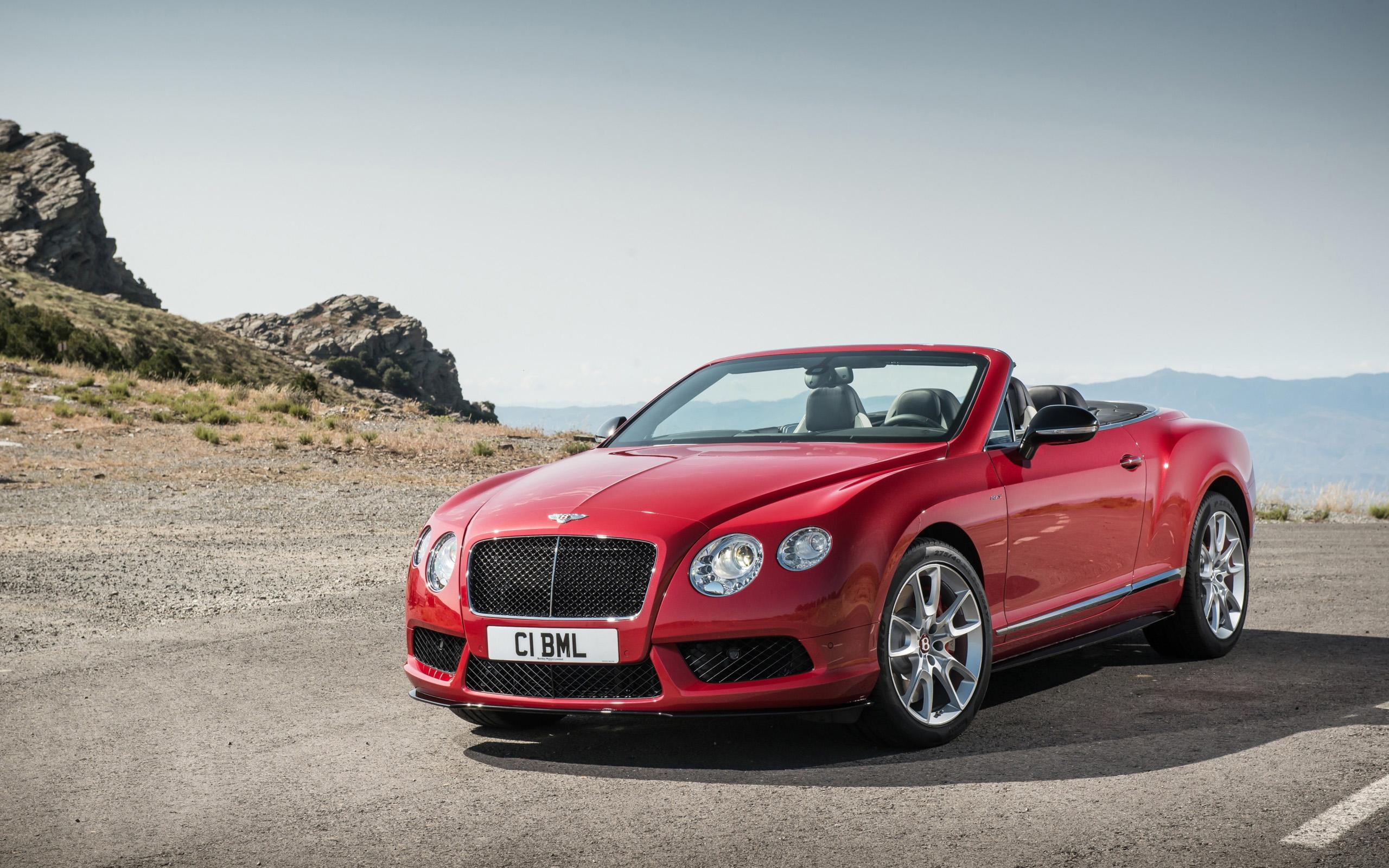 2014 Bentley Continental GT V8 S Convertible Wallpapers