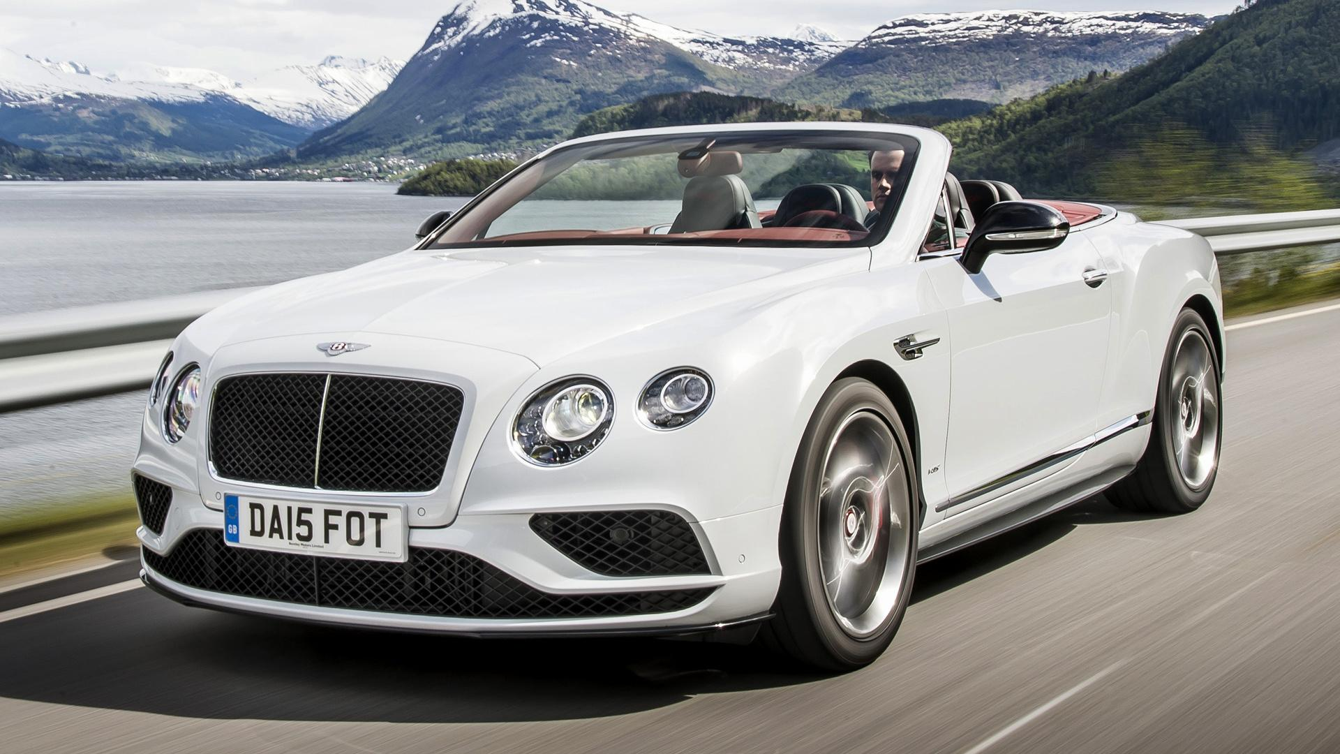 All in One Wallpapers: Bentley Continental GT V8 S Convertible 2015