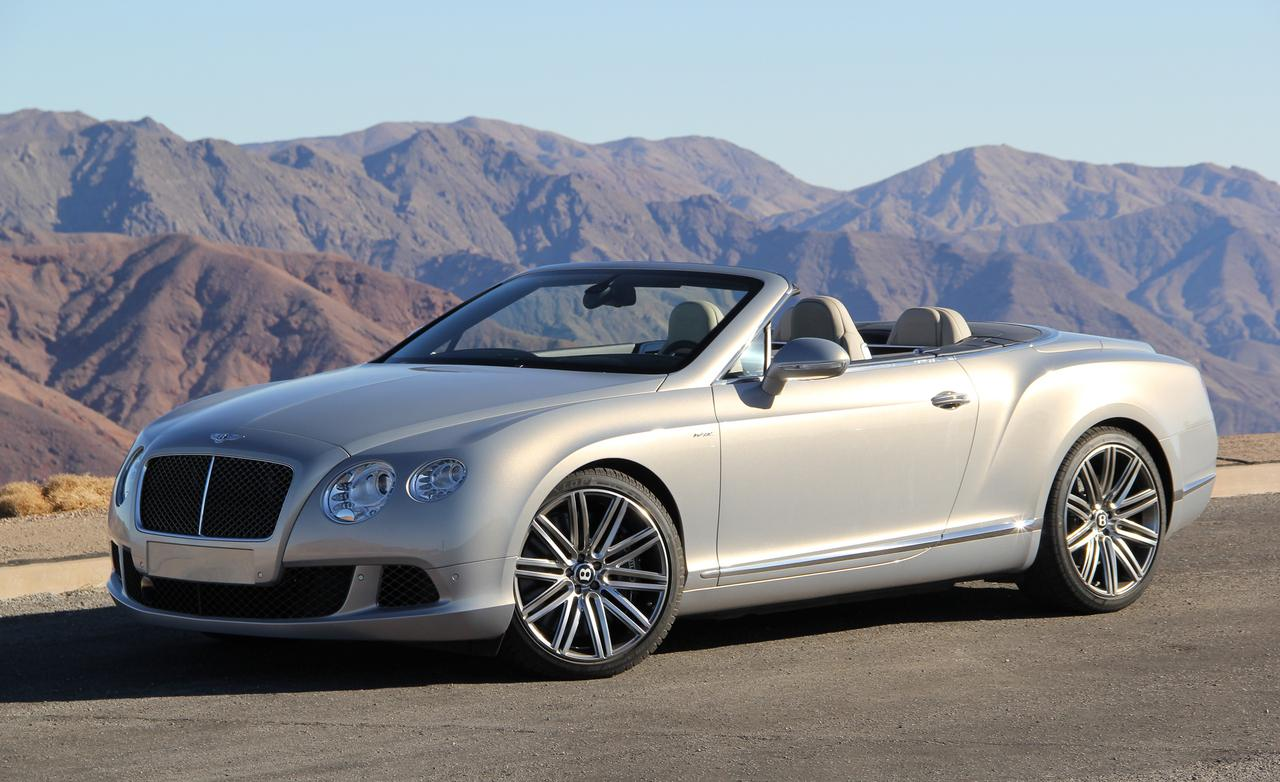 View Bentley Continental GT Convertible